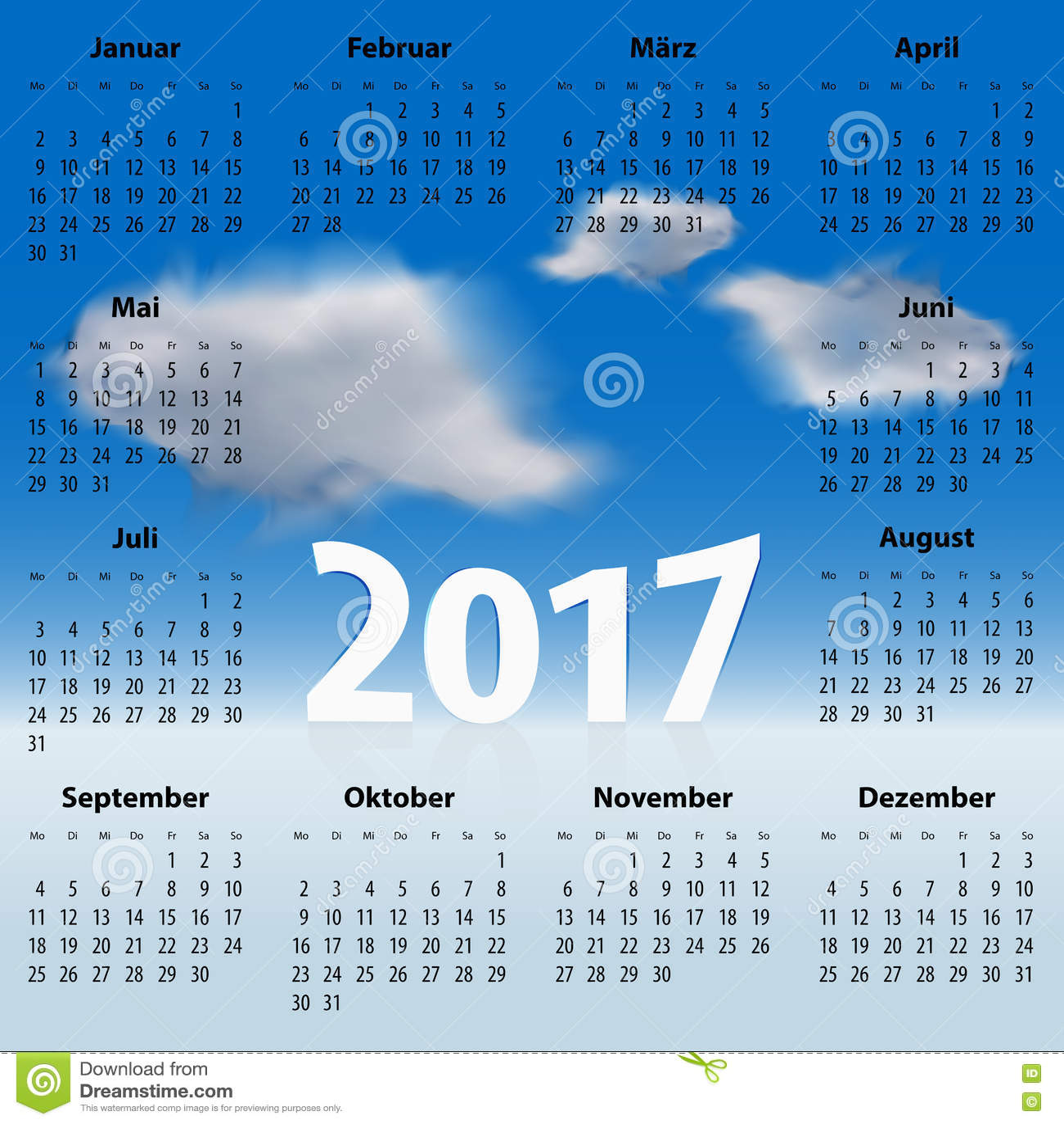 Календарь природы на немецком языке картинки