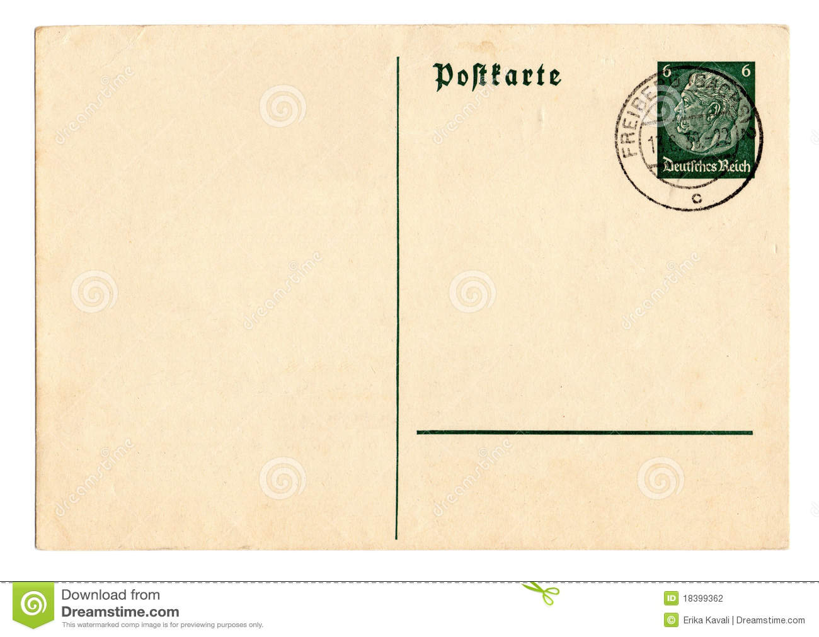 немецкий рейх открытки hindenburg