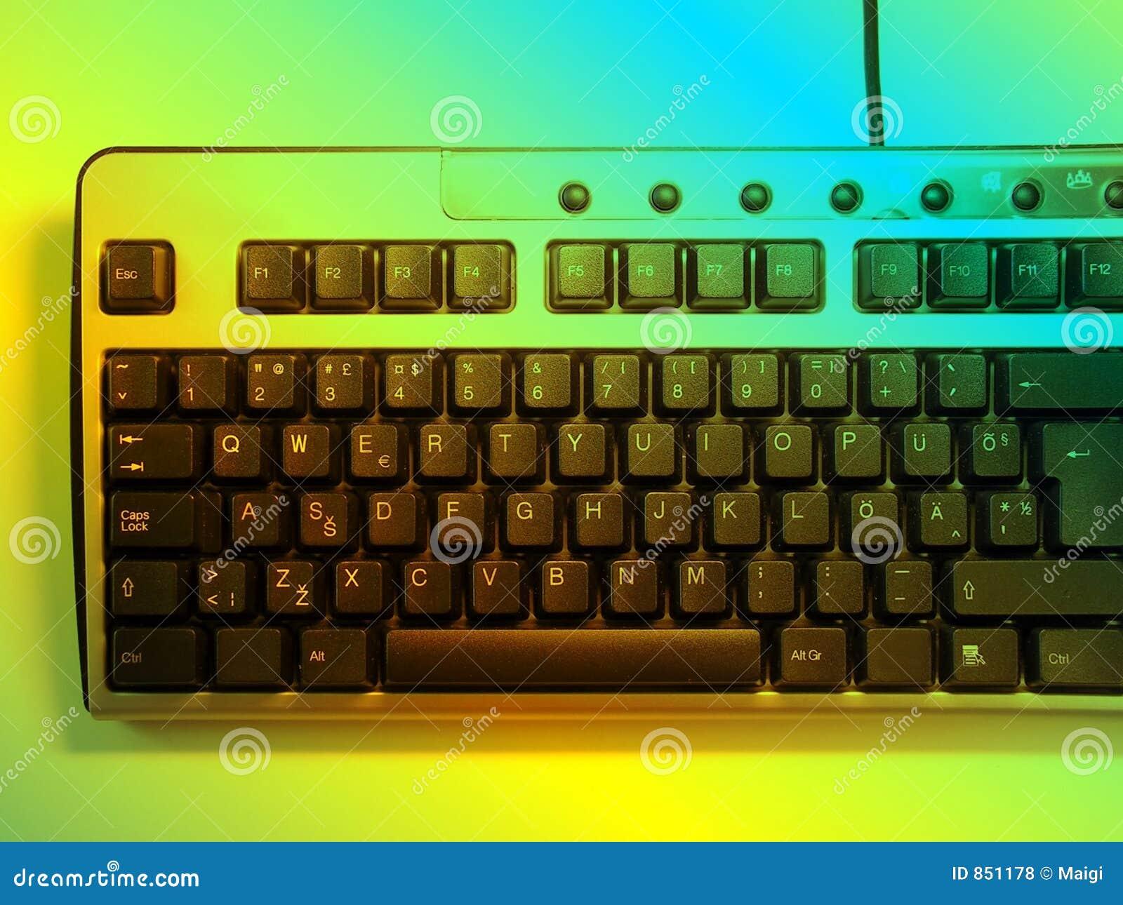 неон клавиатуры