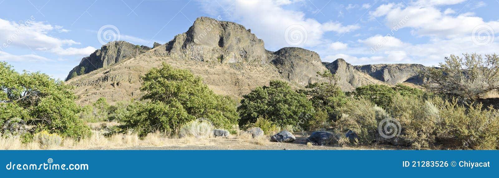 неурожайное yakima вашингтона горы