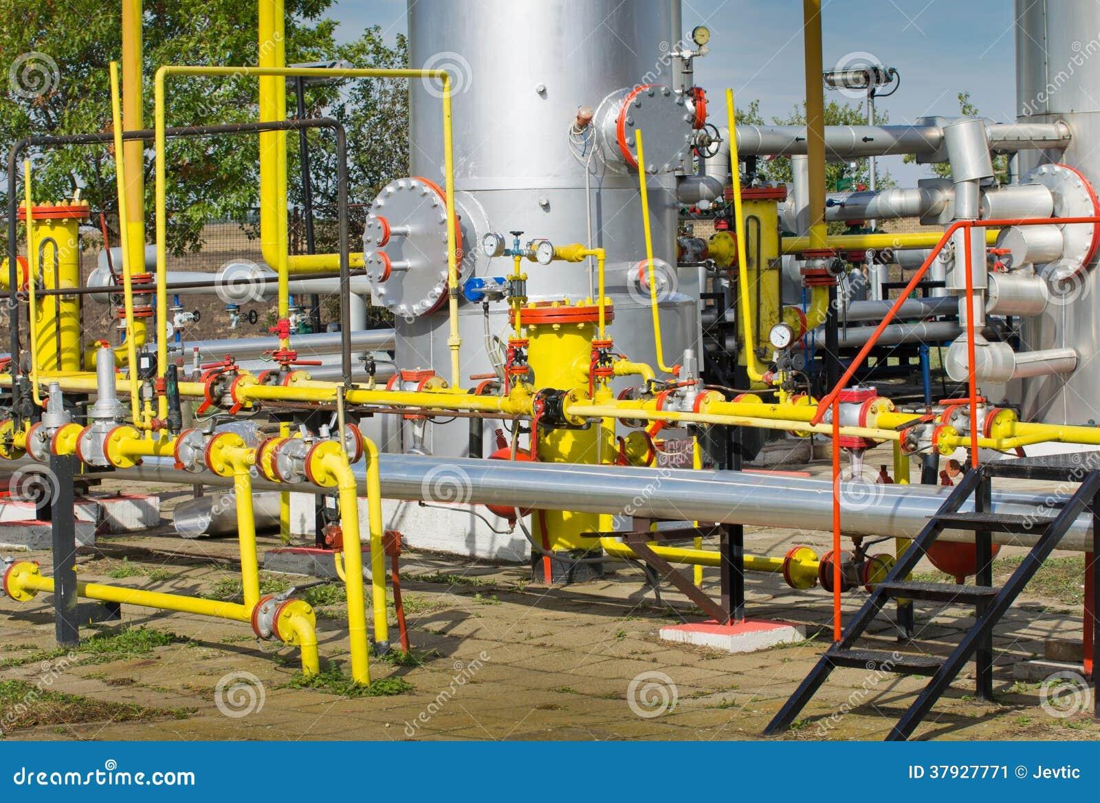 Нефтяная промышленность нефти и газ