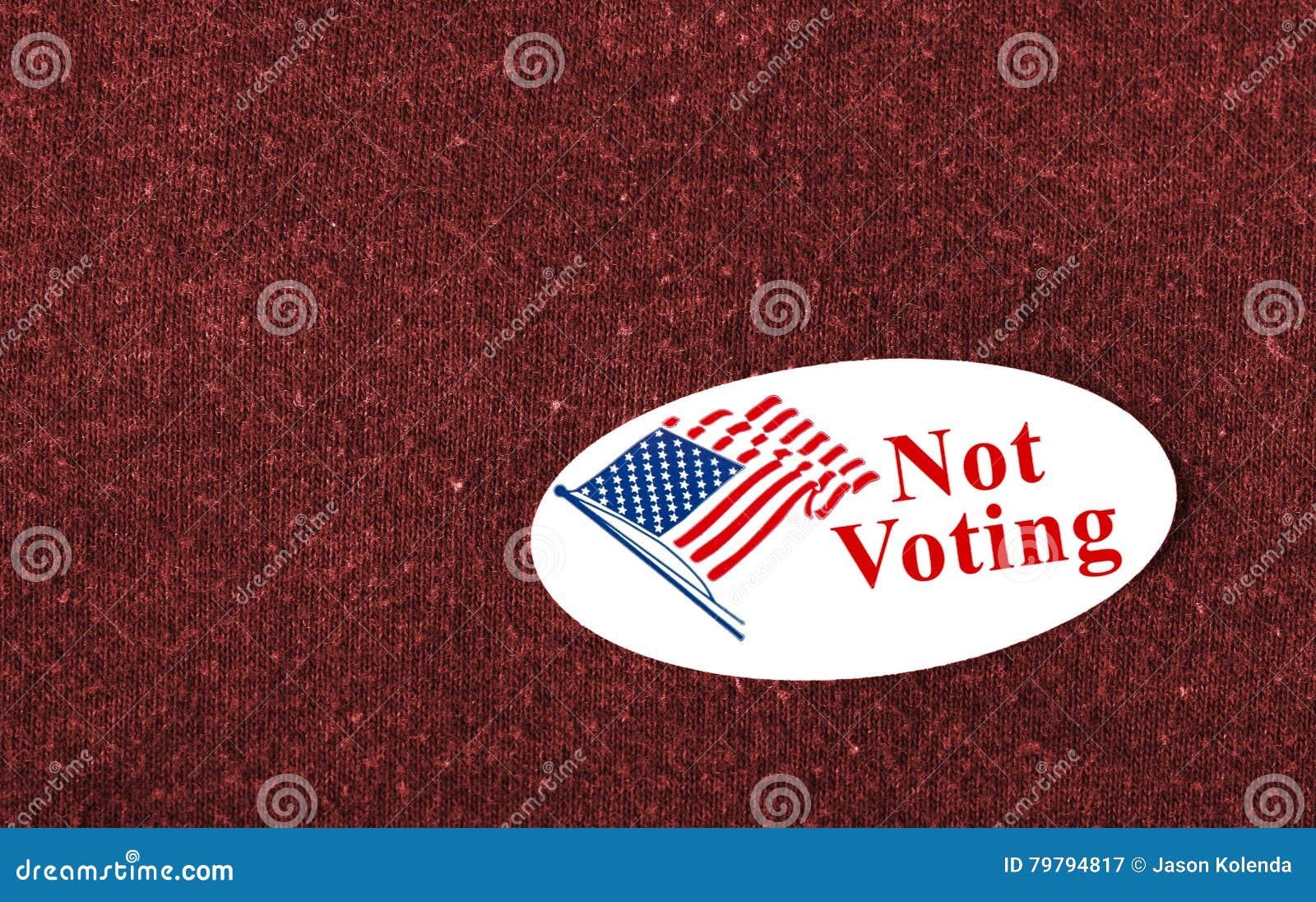 Не голосующ