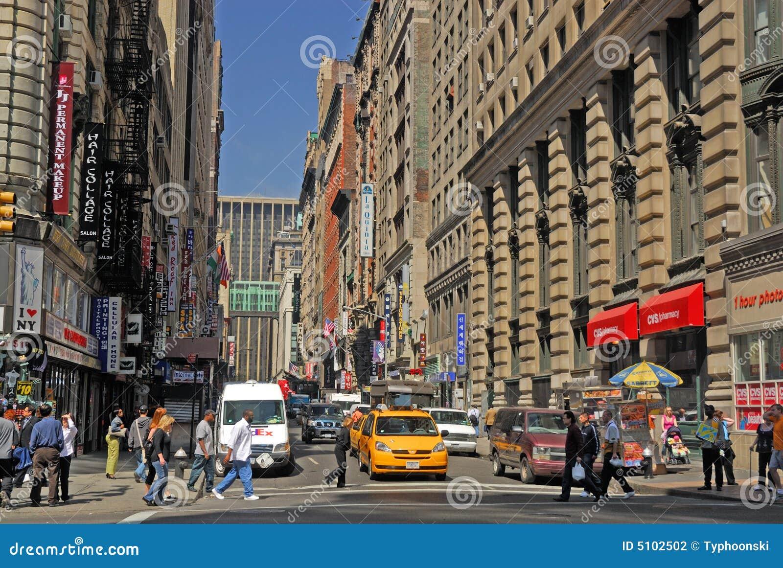 новая улица york места