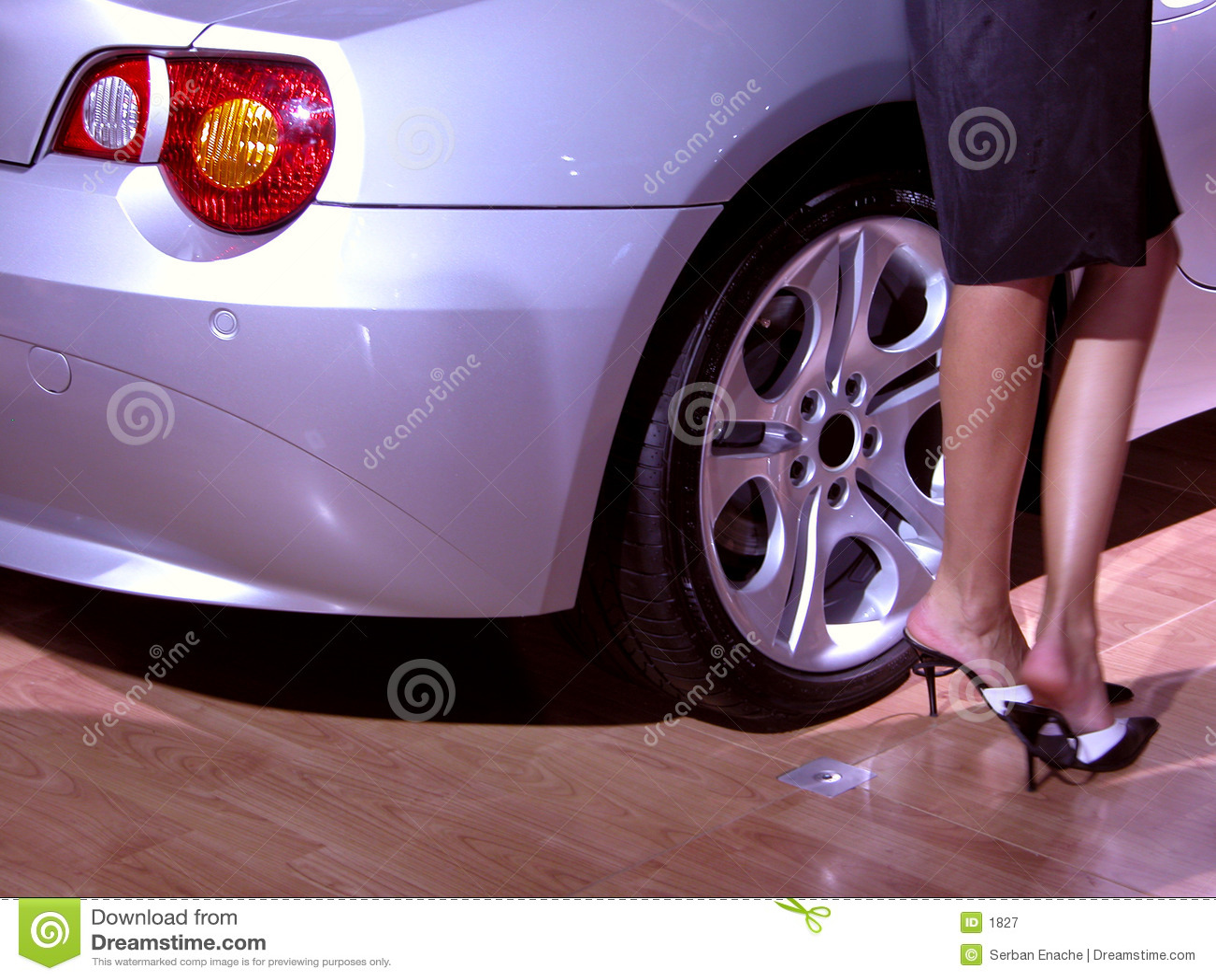 ноги автомобиля сексуальные