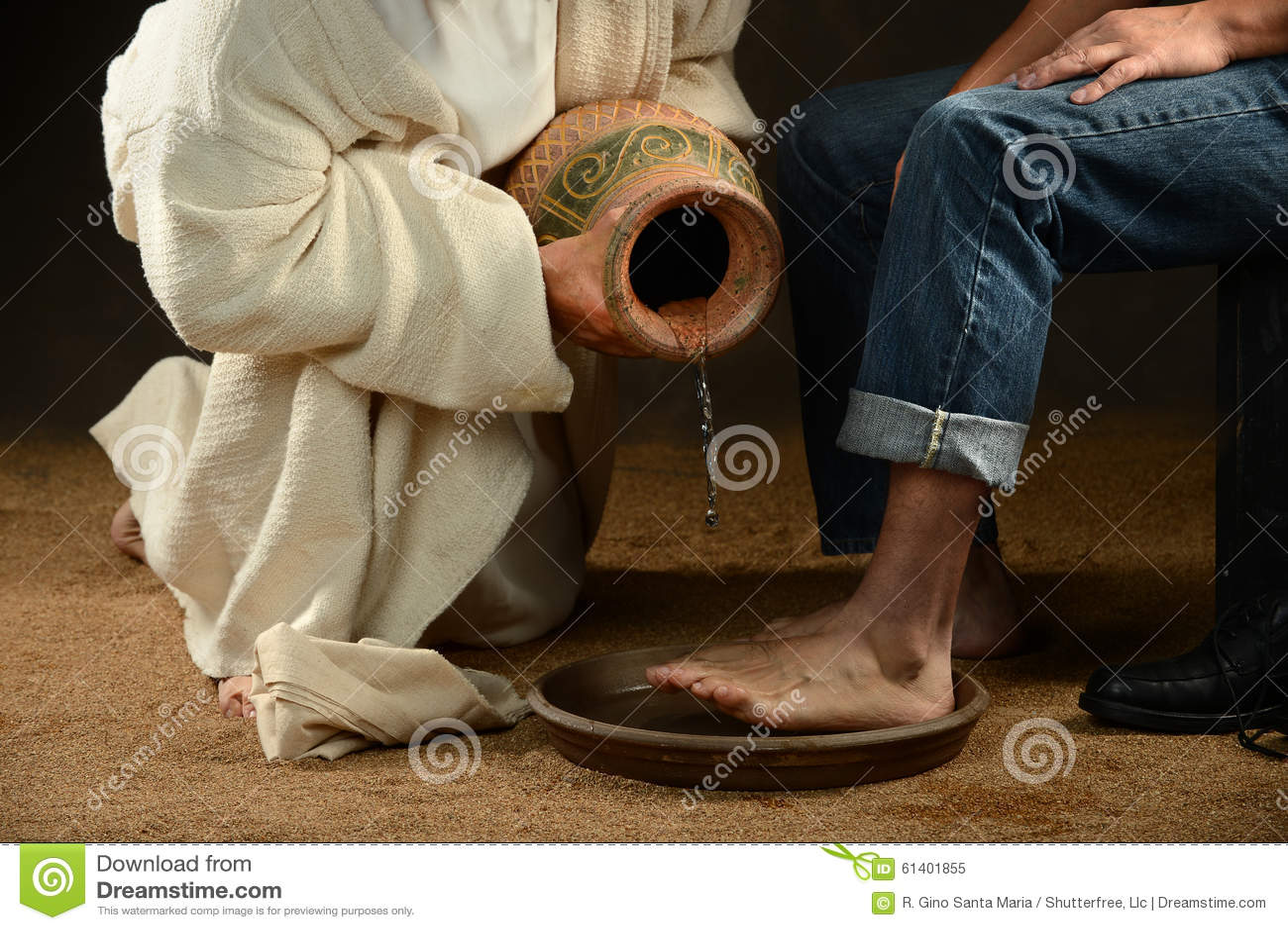 Ноги Иисуса моя современного человека