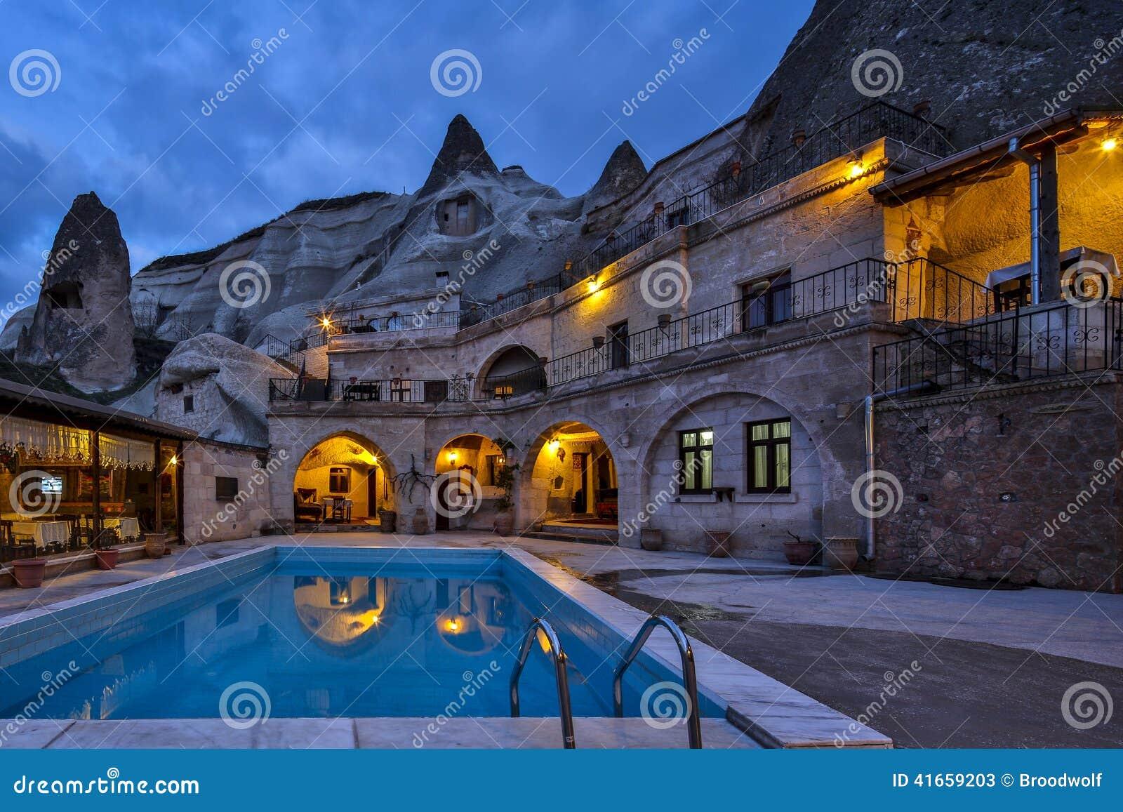 Номер каппа свой гостиница пещеры утеса на night02