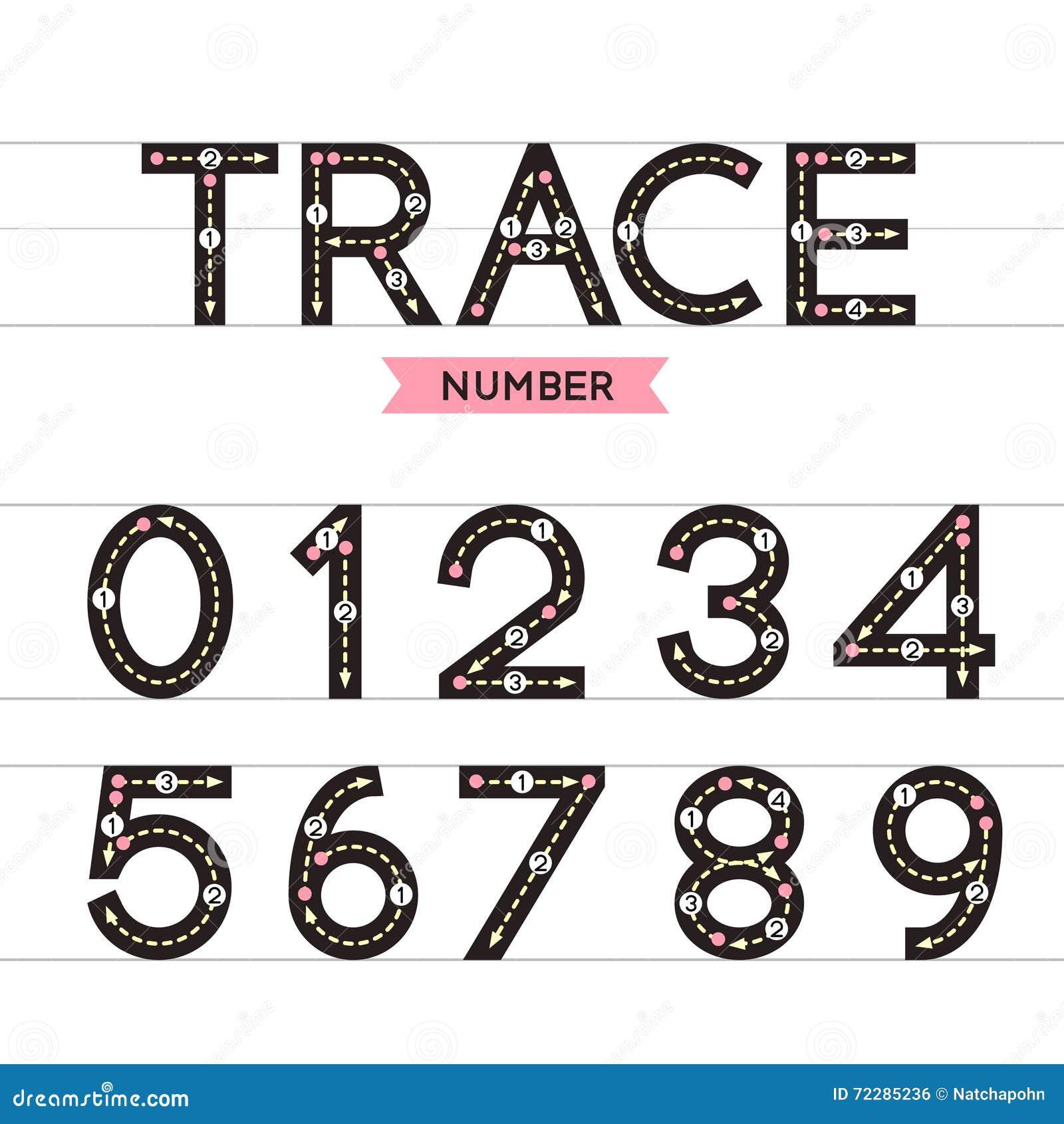 Download Номер трассировки иллюстрация вектора. иллюстрации насчитывающей нул - 72285236