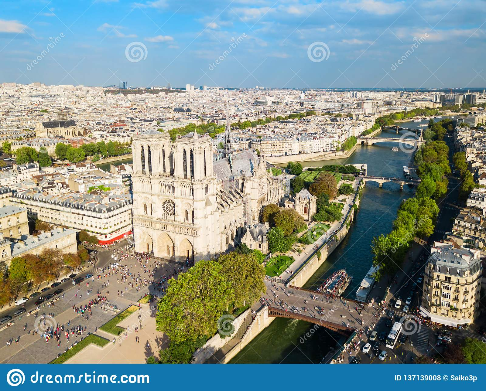 Нотр-Дам de Париж, франция