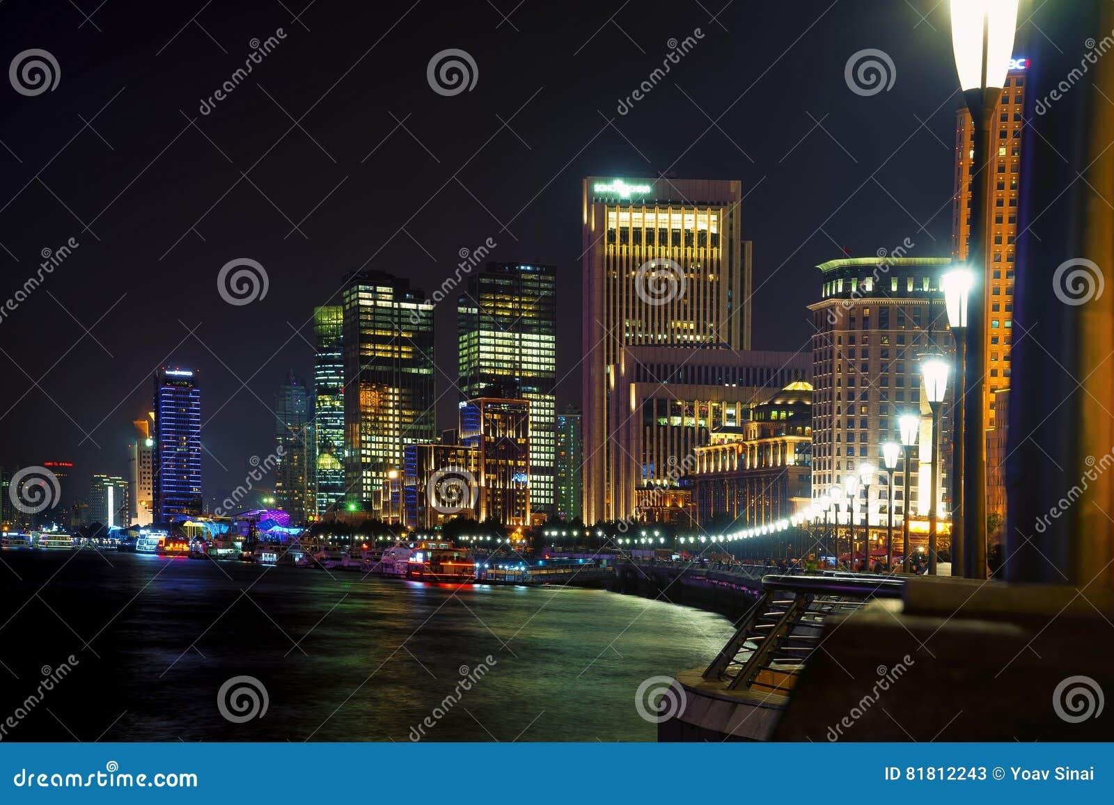 Ноча горизонта Шанхая