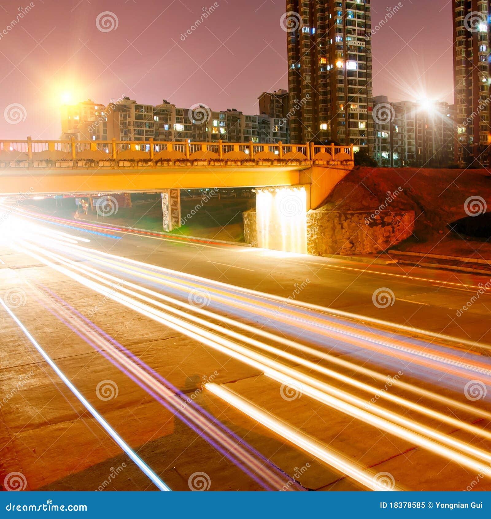 ноча города