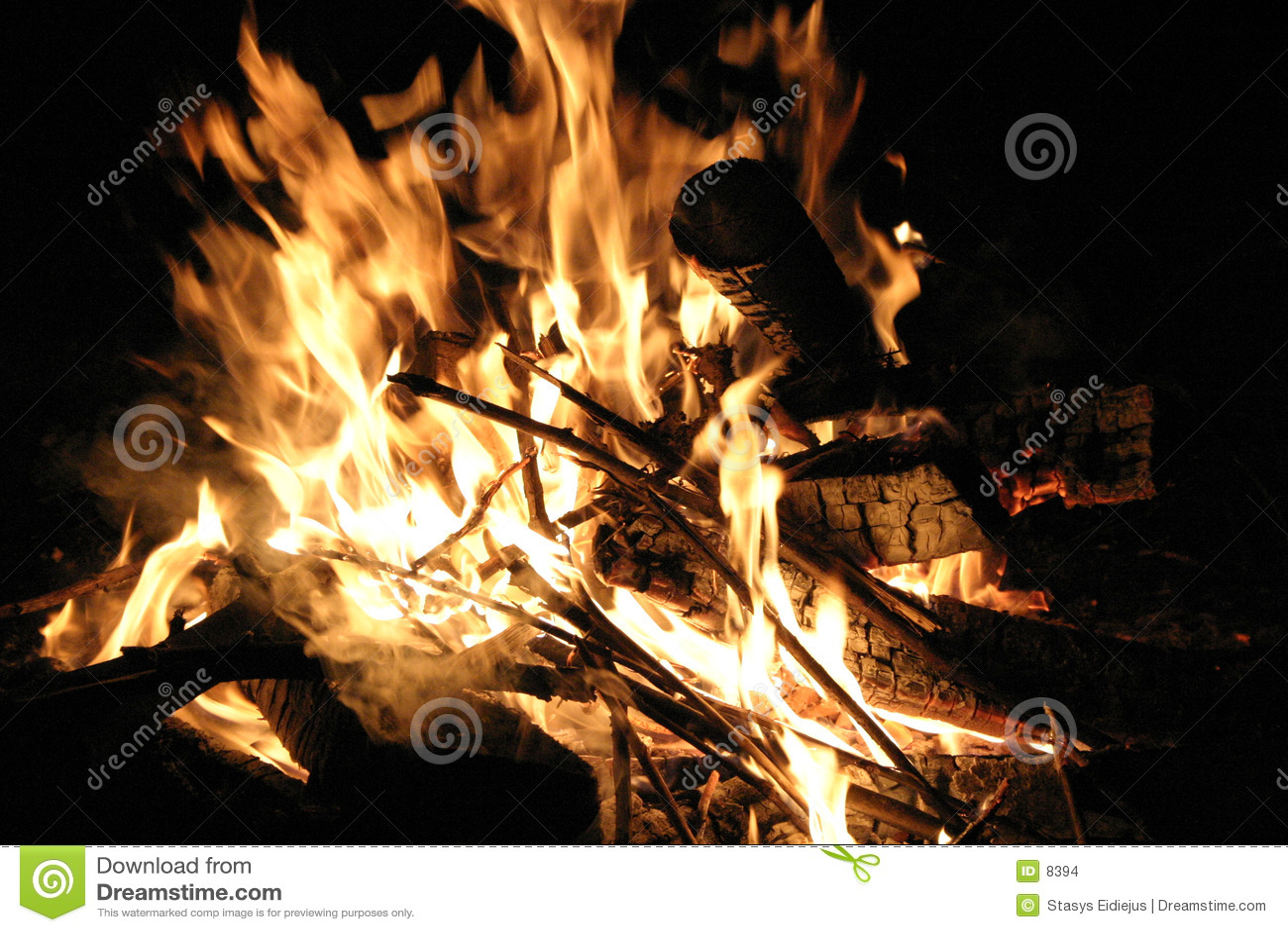 ноча пожара