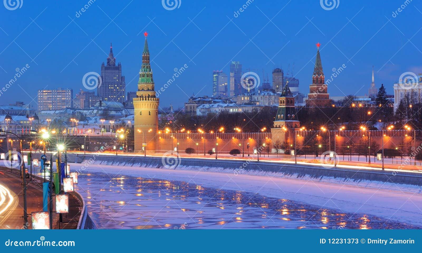ноча Россия kremlin moscow ансамбля