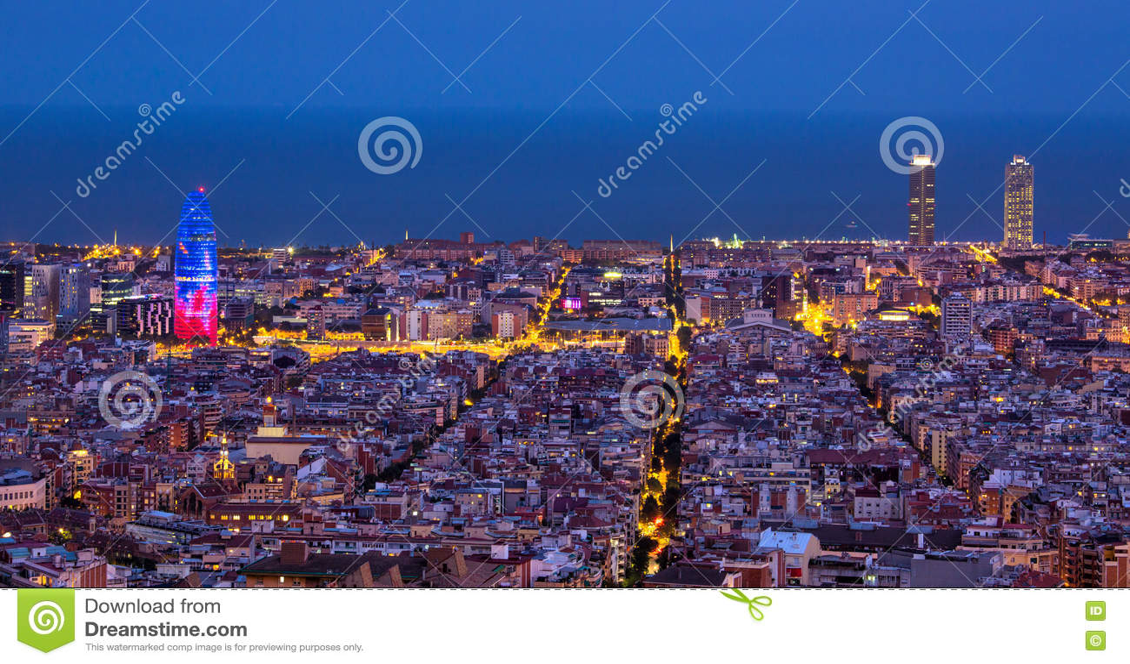 ноча barcelona