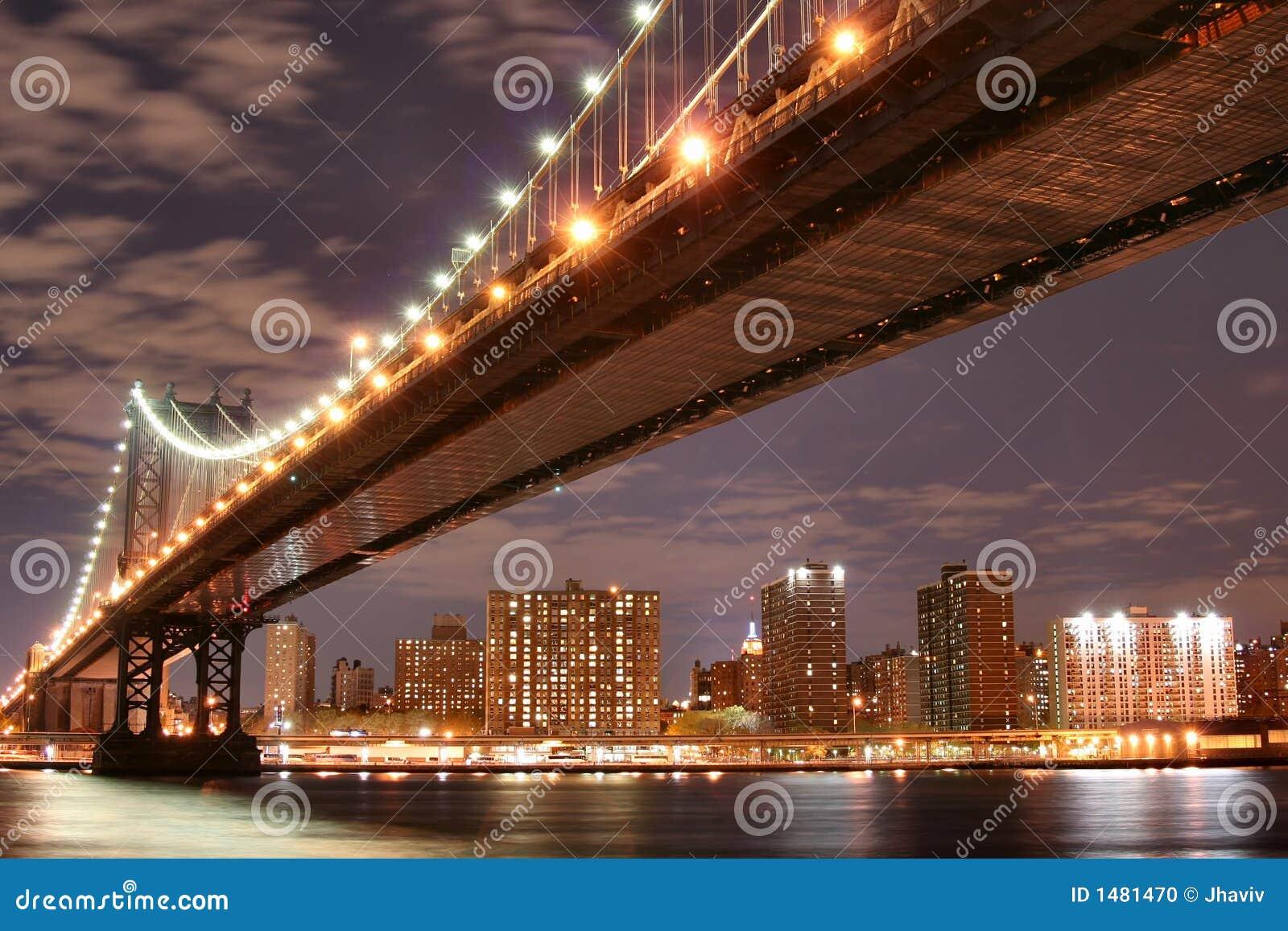 ноча manhattan моста