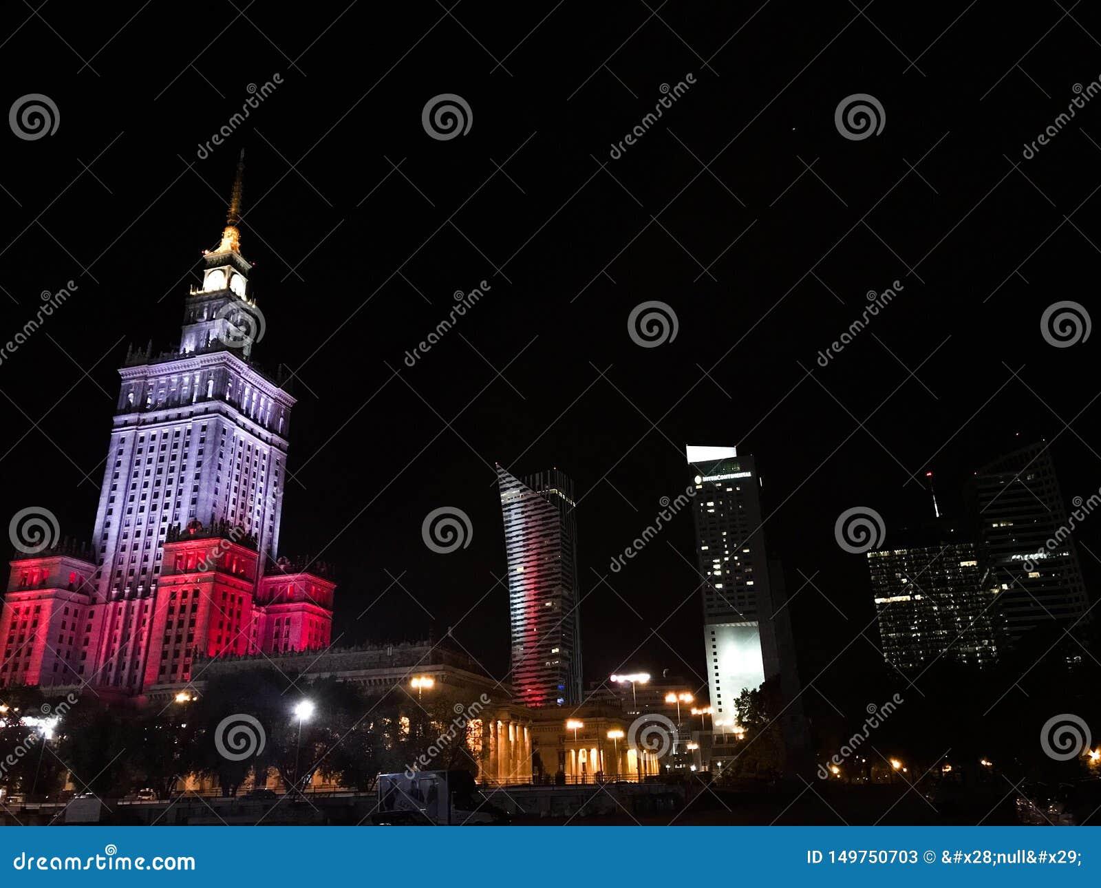 Ночь Варшава