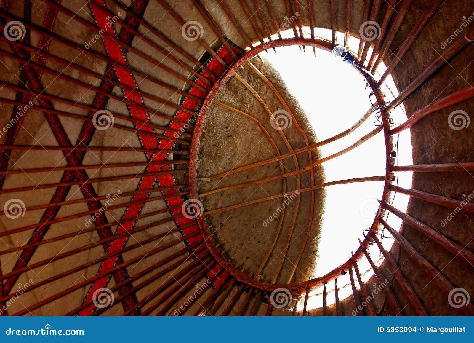 нутряное yurt крыши