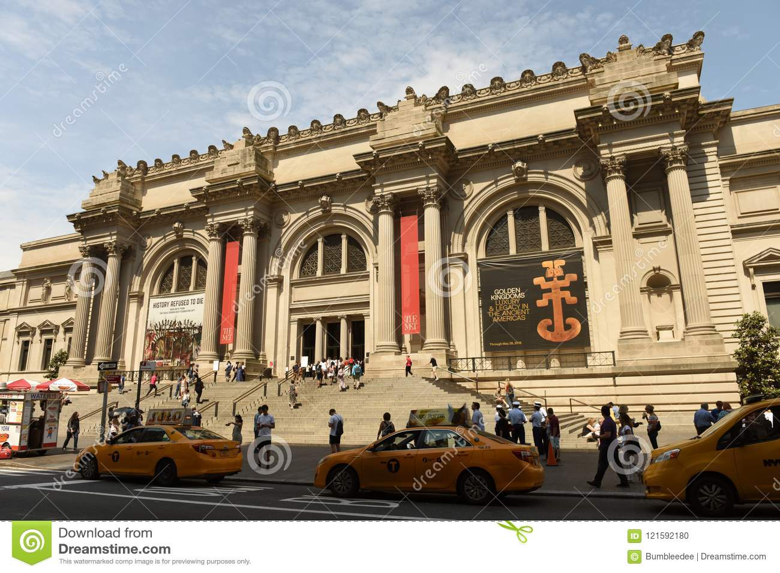 Нью-Йорк, США - 26-ое мая 2018: Столичный музей изобразительных искусств в новой