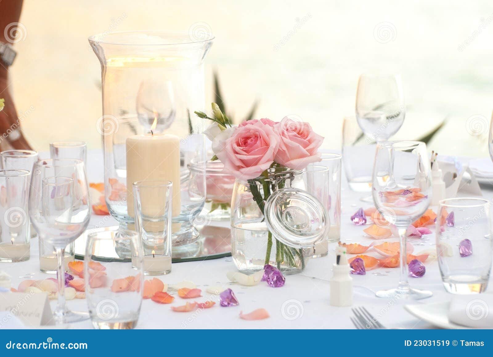 Обеденный стол венчания или партии
