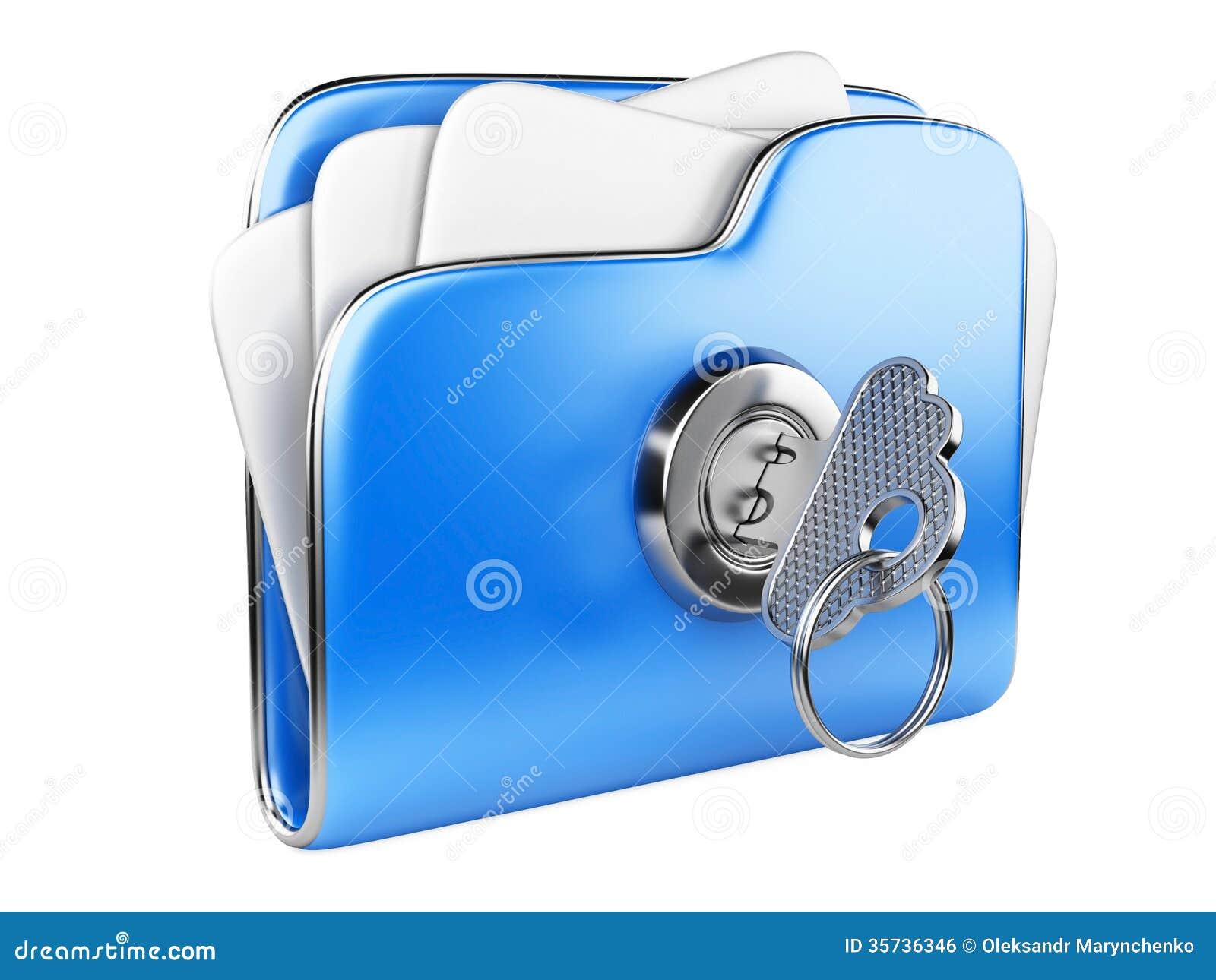 Обеспечьте файлы. Папка с ключом.