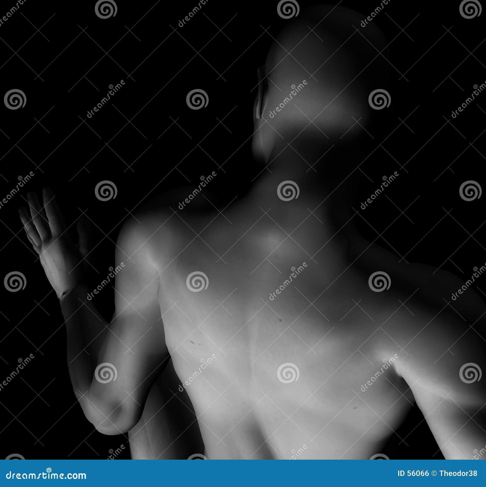 обнажённый 2 мужчин