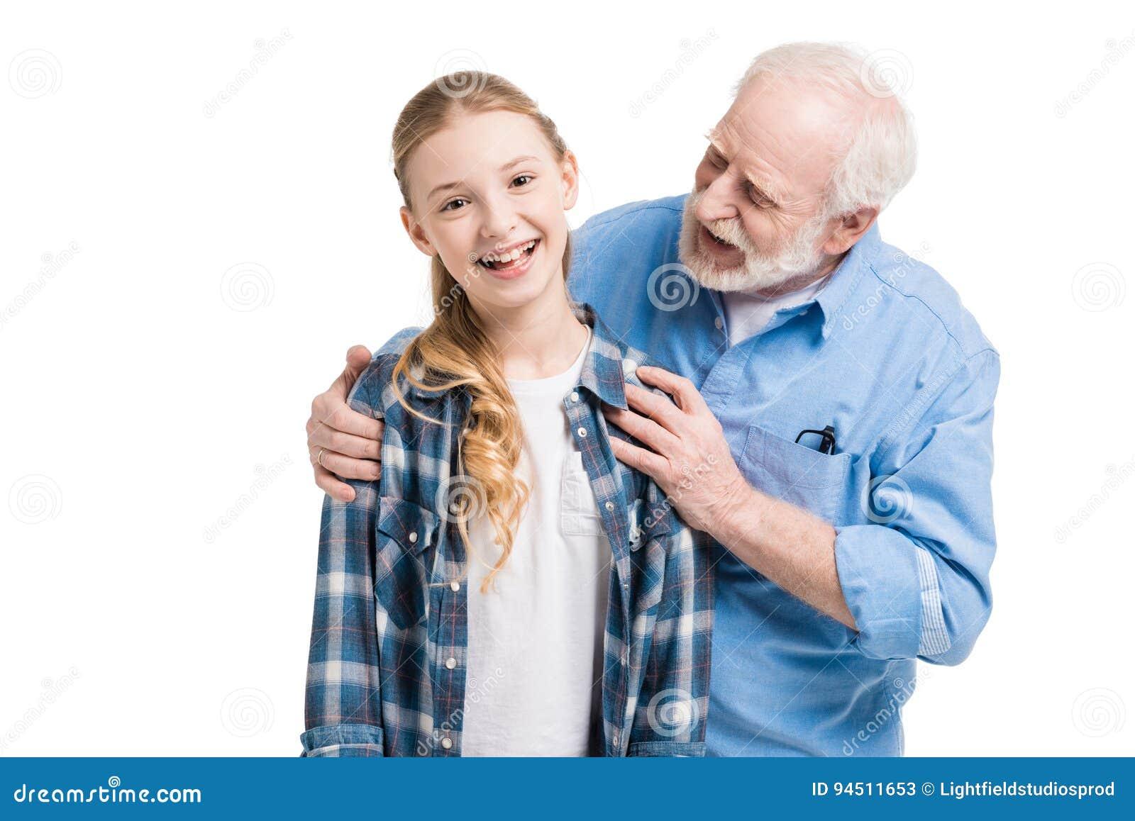 молоденькая внучка и дед порно