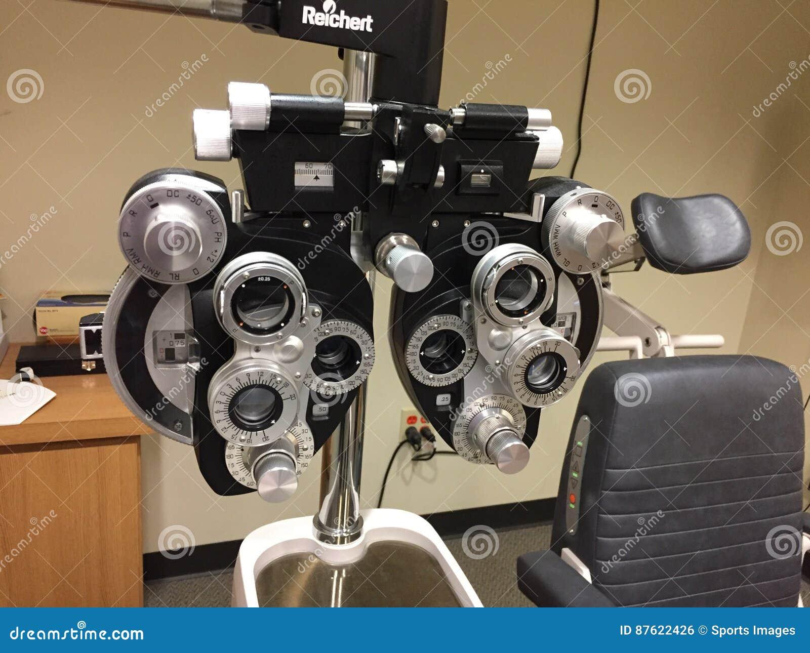 Оборудование экзамена глаза