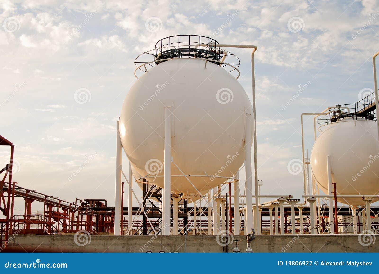 обрабатывать завода газа