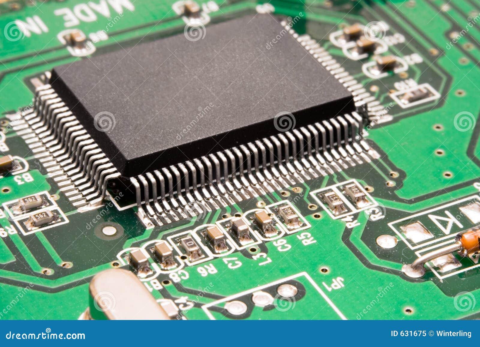 Download обработчик макроса компьютера цепи Стоковое Изображение - изображение насчитывающей конспектов, компьютер: 631675