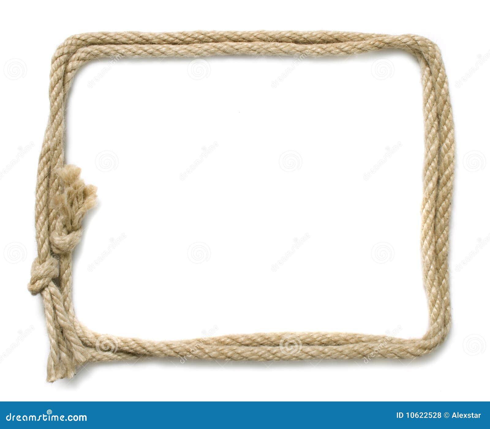 обрамите веревочку Стоковые Фотографии RF - изображение: 10622528