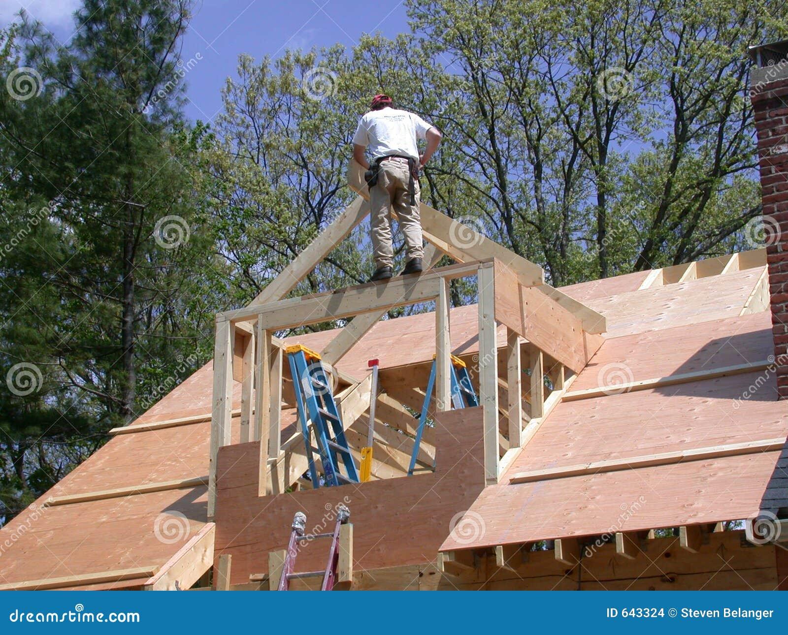 Download обрамлять dormer стоковое фото. изображение насчитывающей крыша - 643324