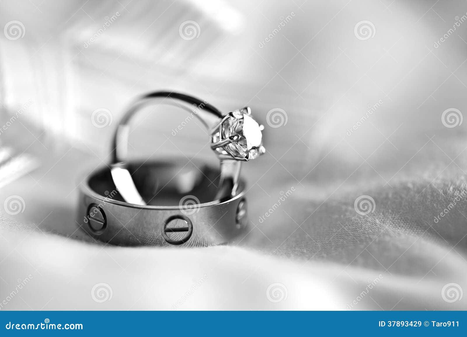 Обручальное кольцо пар