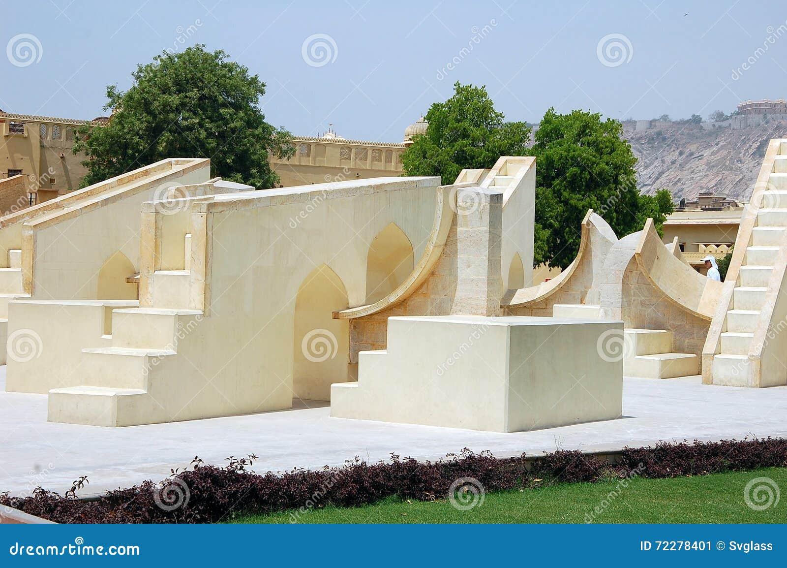 Download Обсерватория Jantar Mantar редакционное фото. изображение насчитывающей bluets - 72278401