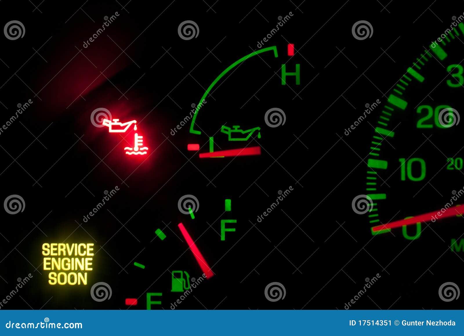 обслуживание давления масла двигателя скоро