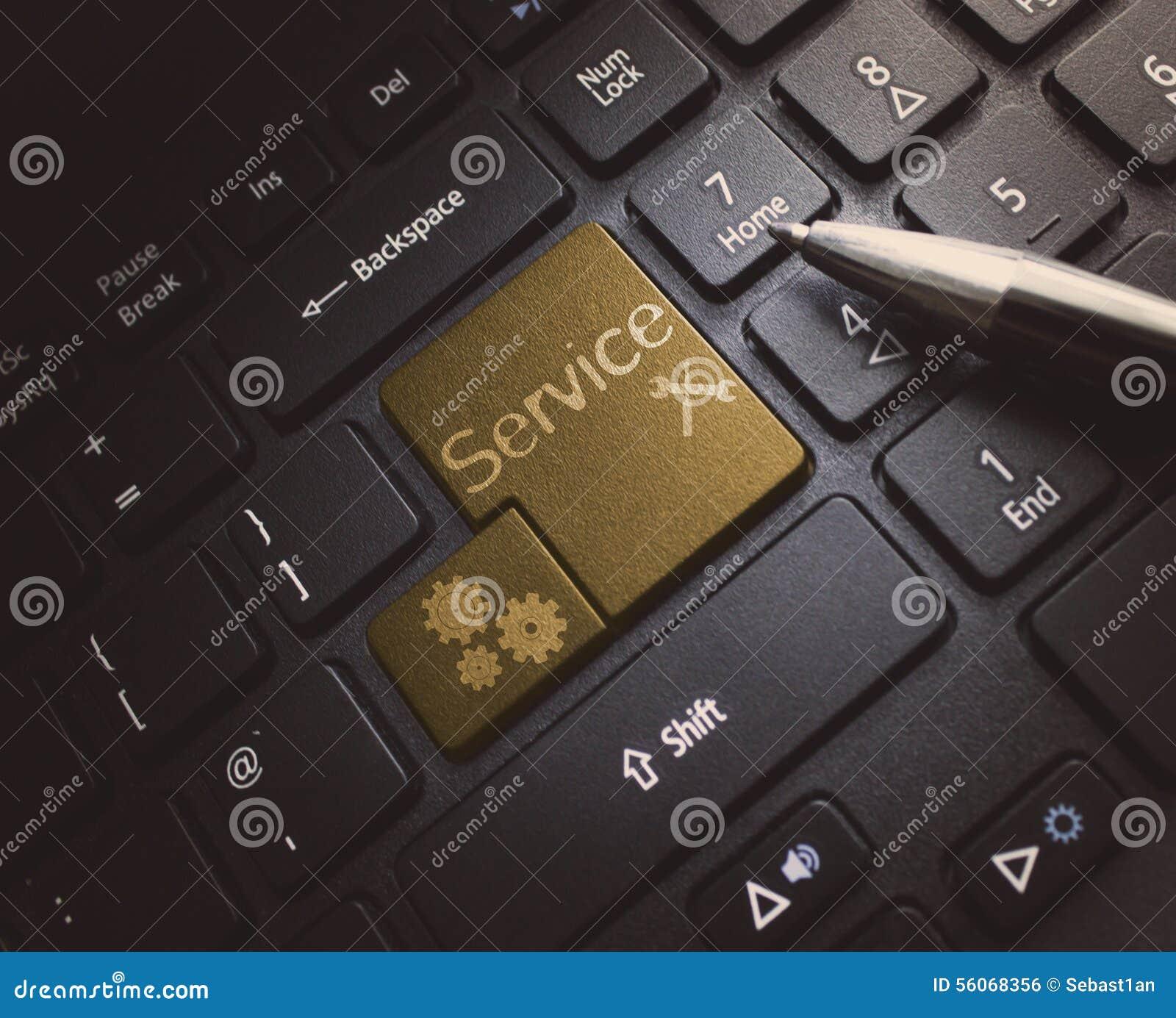 Обслуживайте клавиатуру