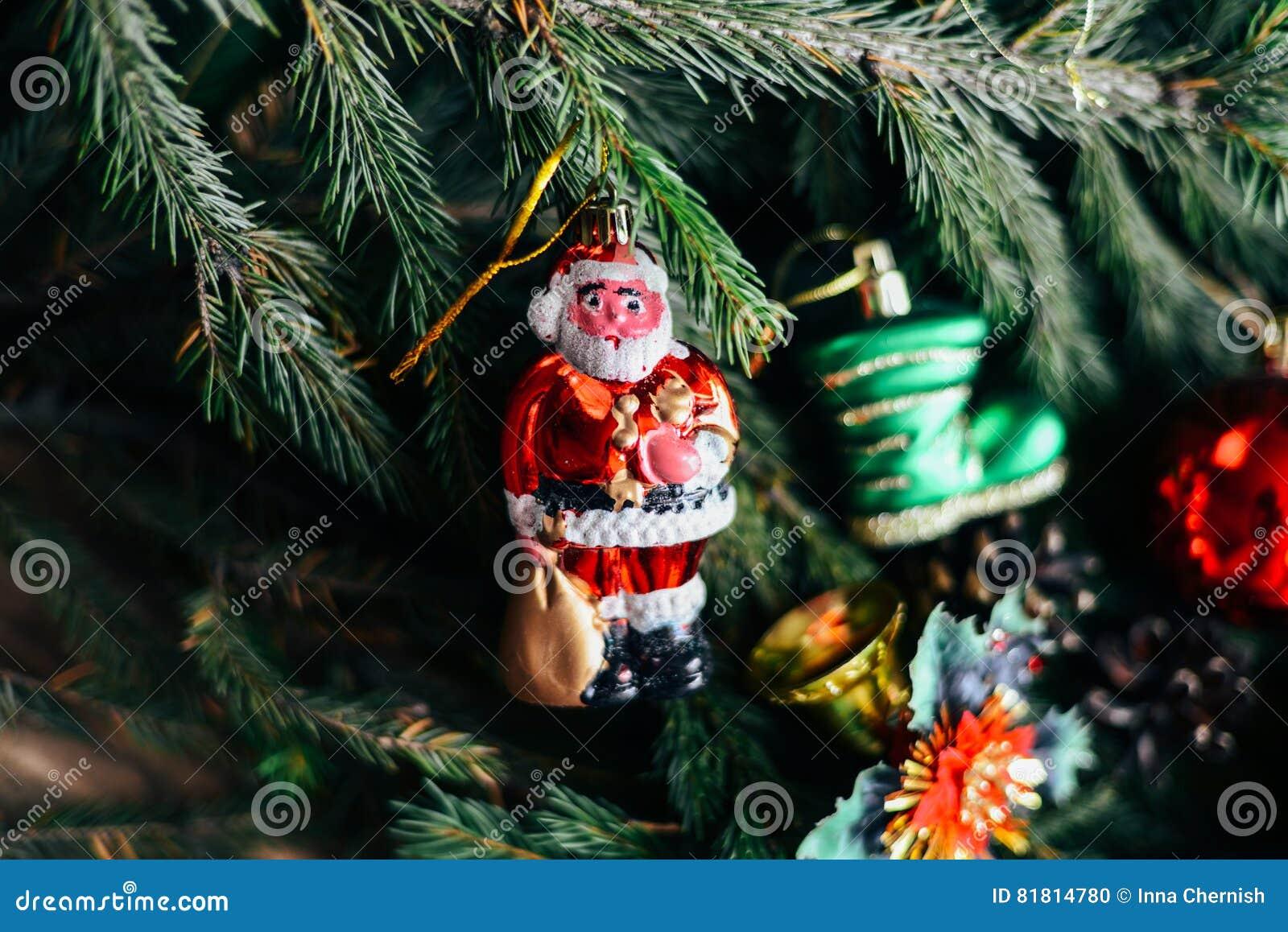 Обширная серия съемок праздника с разнообразие упорками и предпосылками Серии copyspace для объявлений Подарки на рождество на де