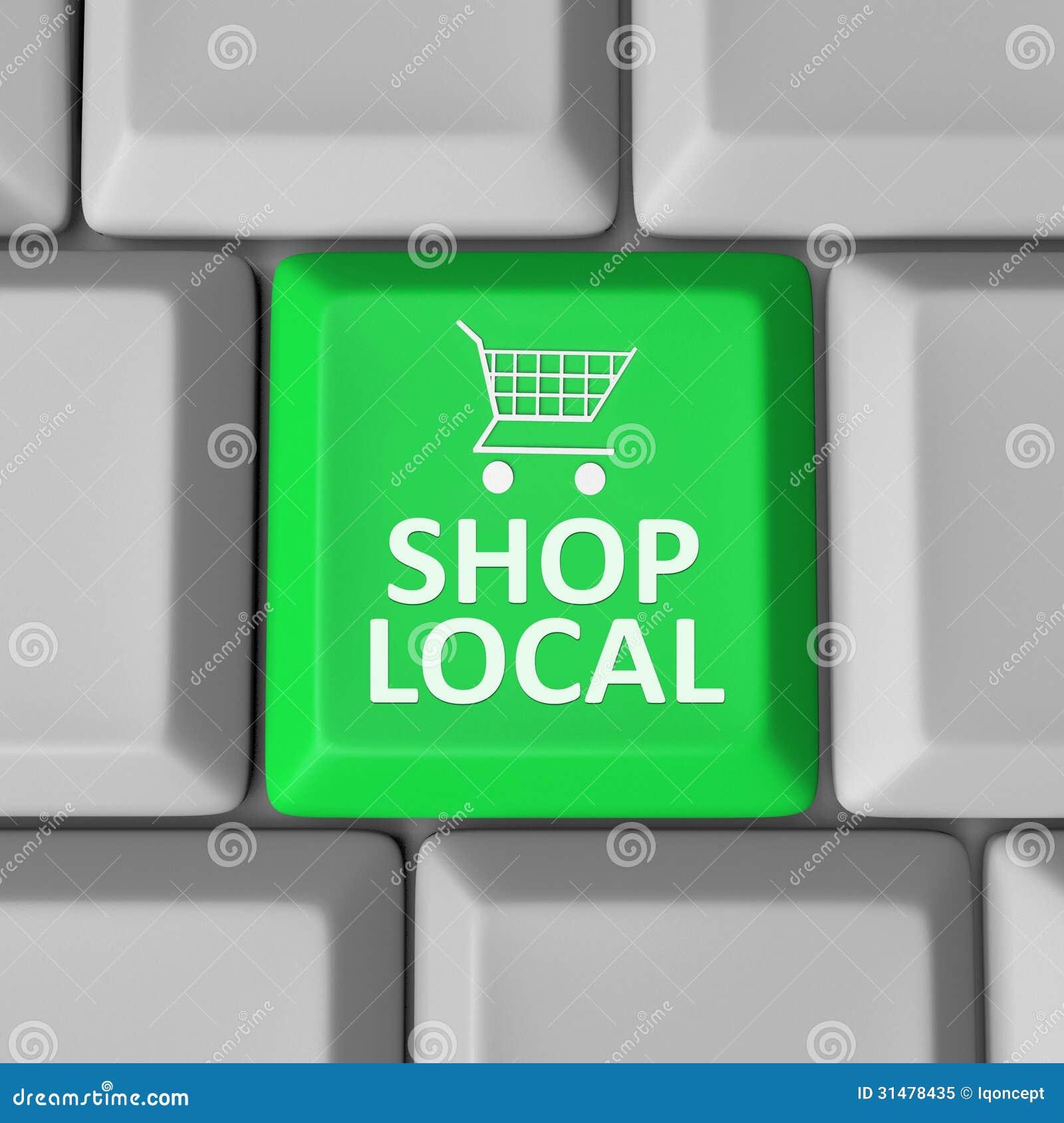Община поддержки магазинной тележкаи ключа местного компьютера магазина
