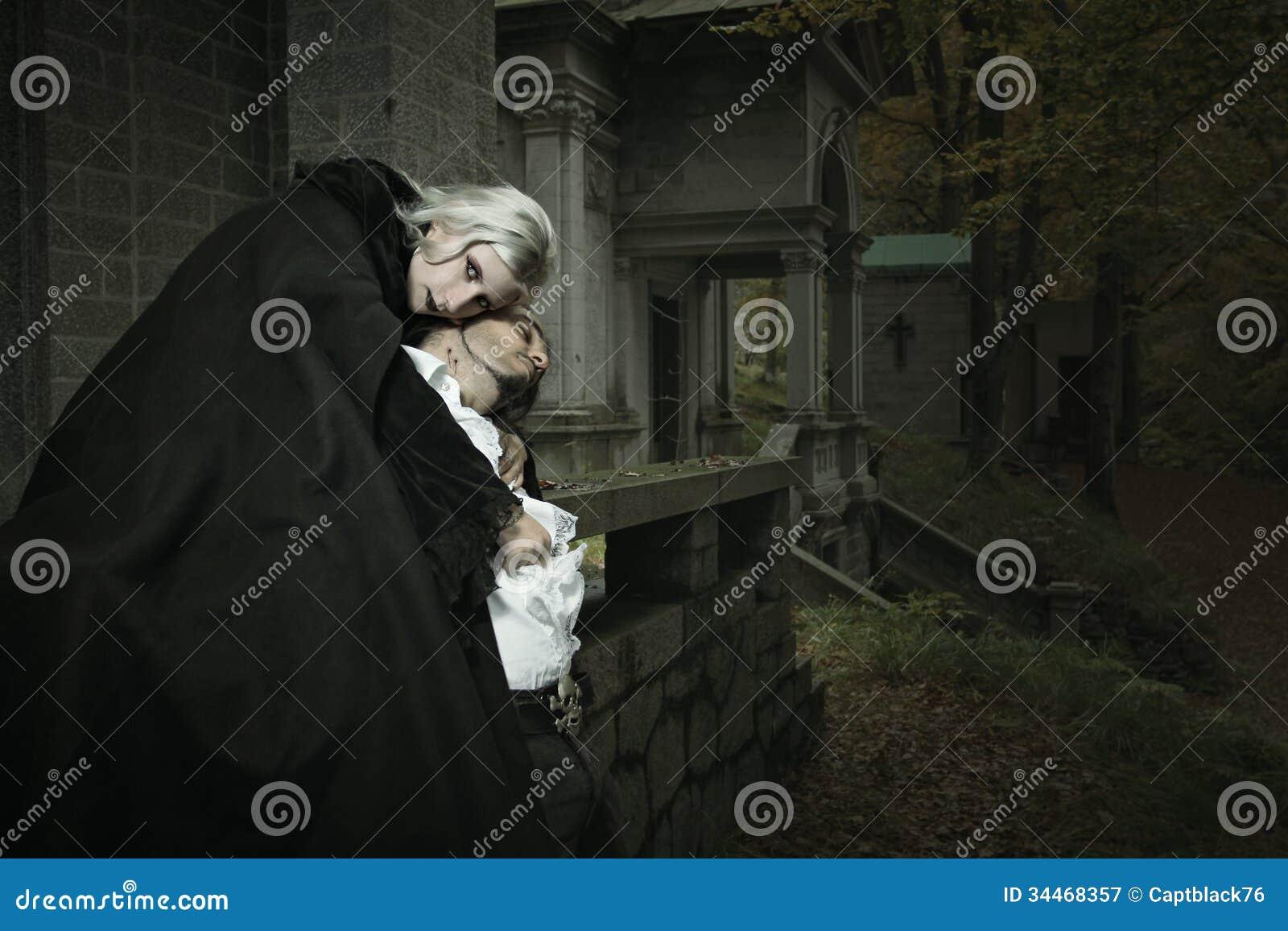 Объятие вампира