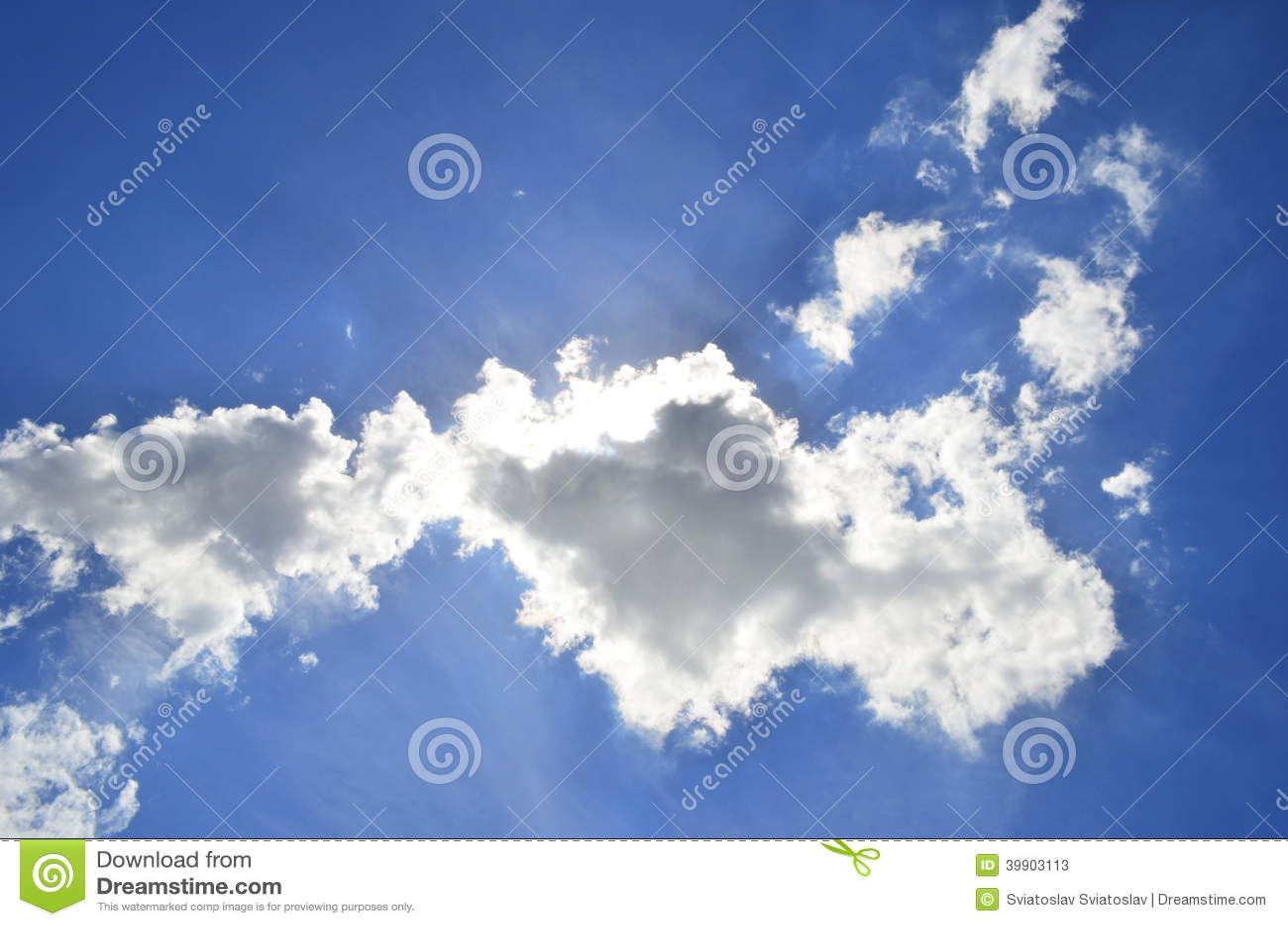 Облака неба