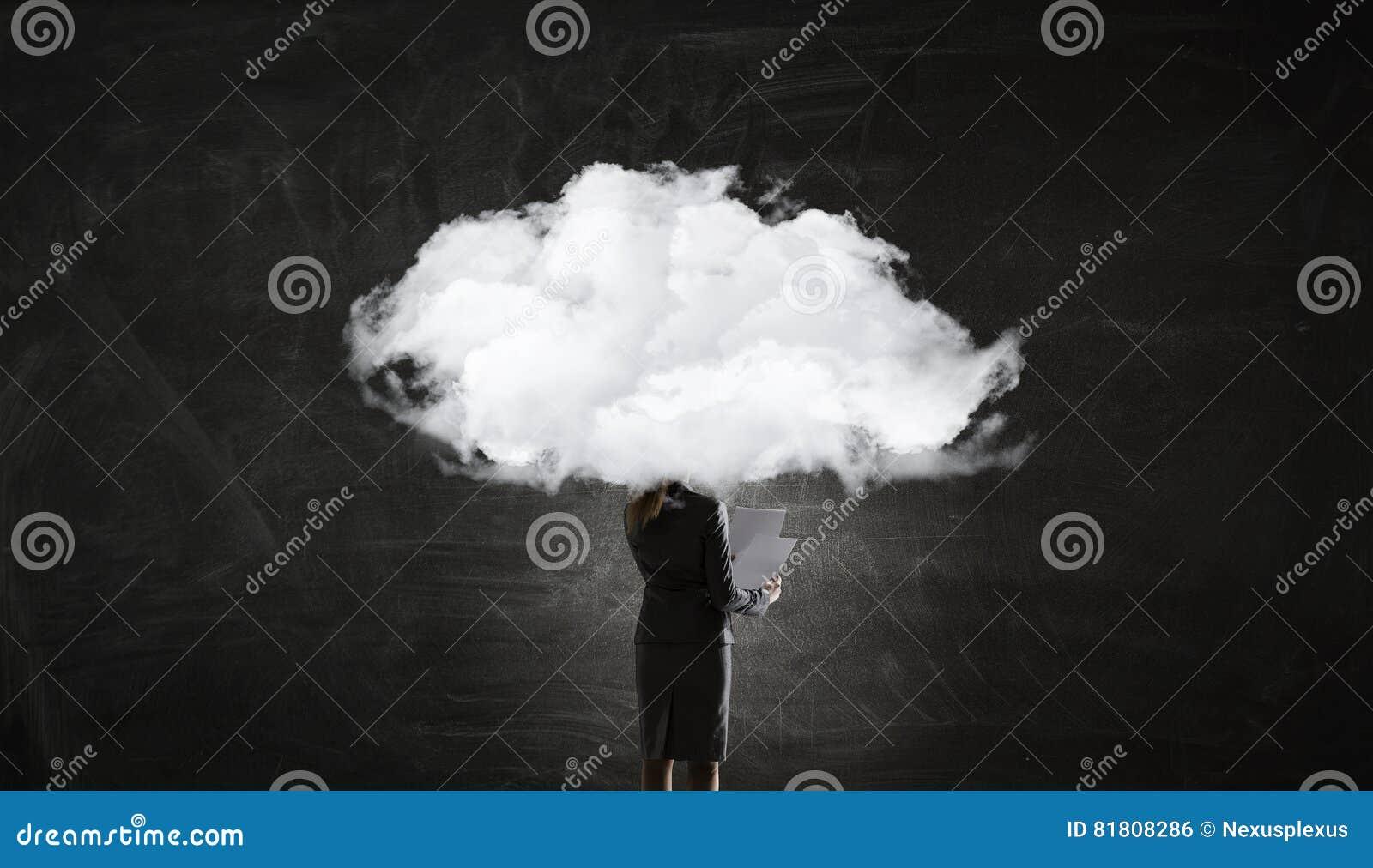 Облако возглавило женщину Мультимедиа