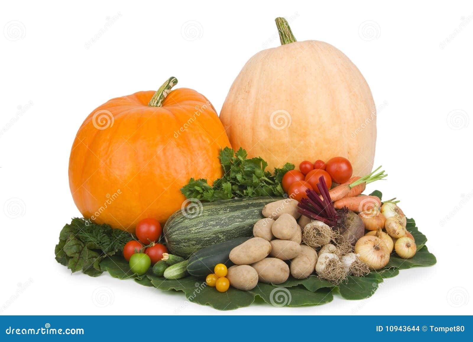 овощи осени