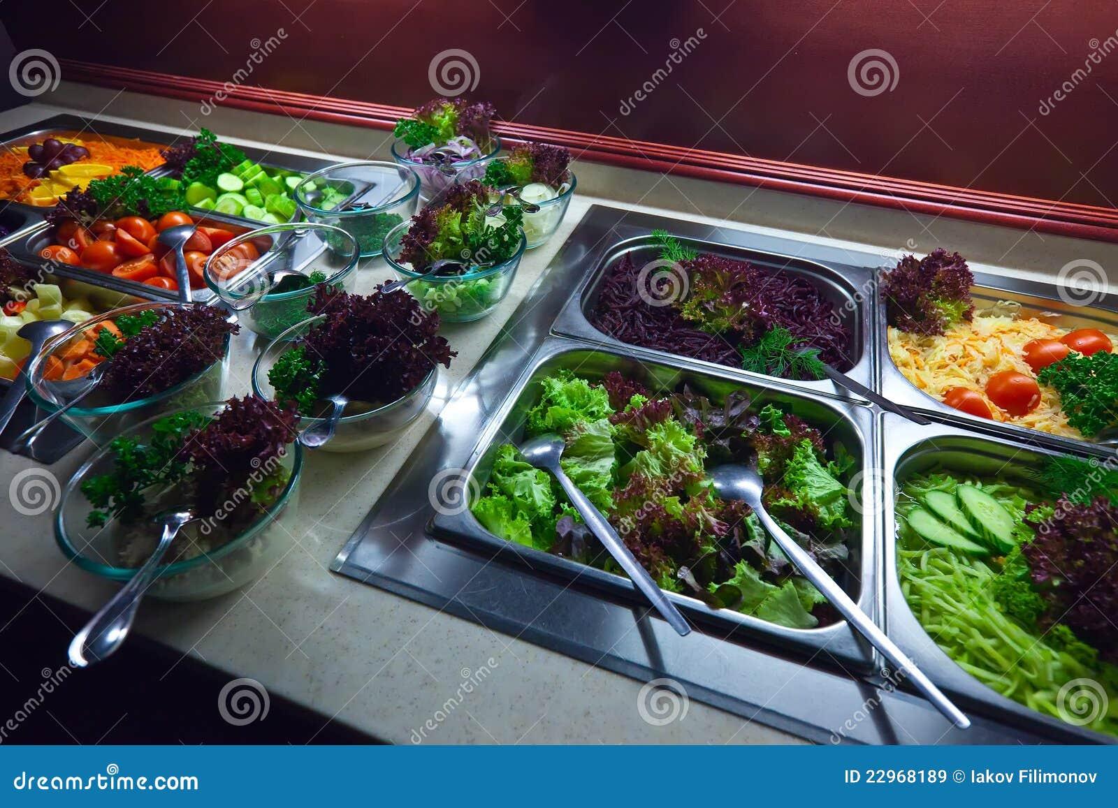 овощи подносов