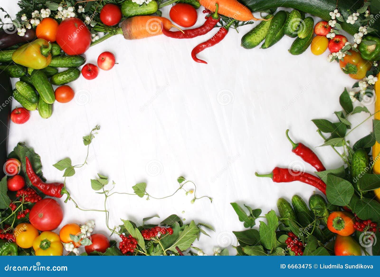 овощи рамки