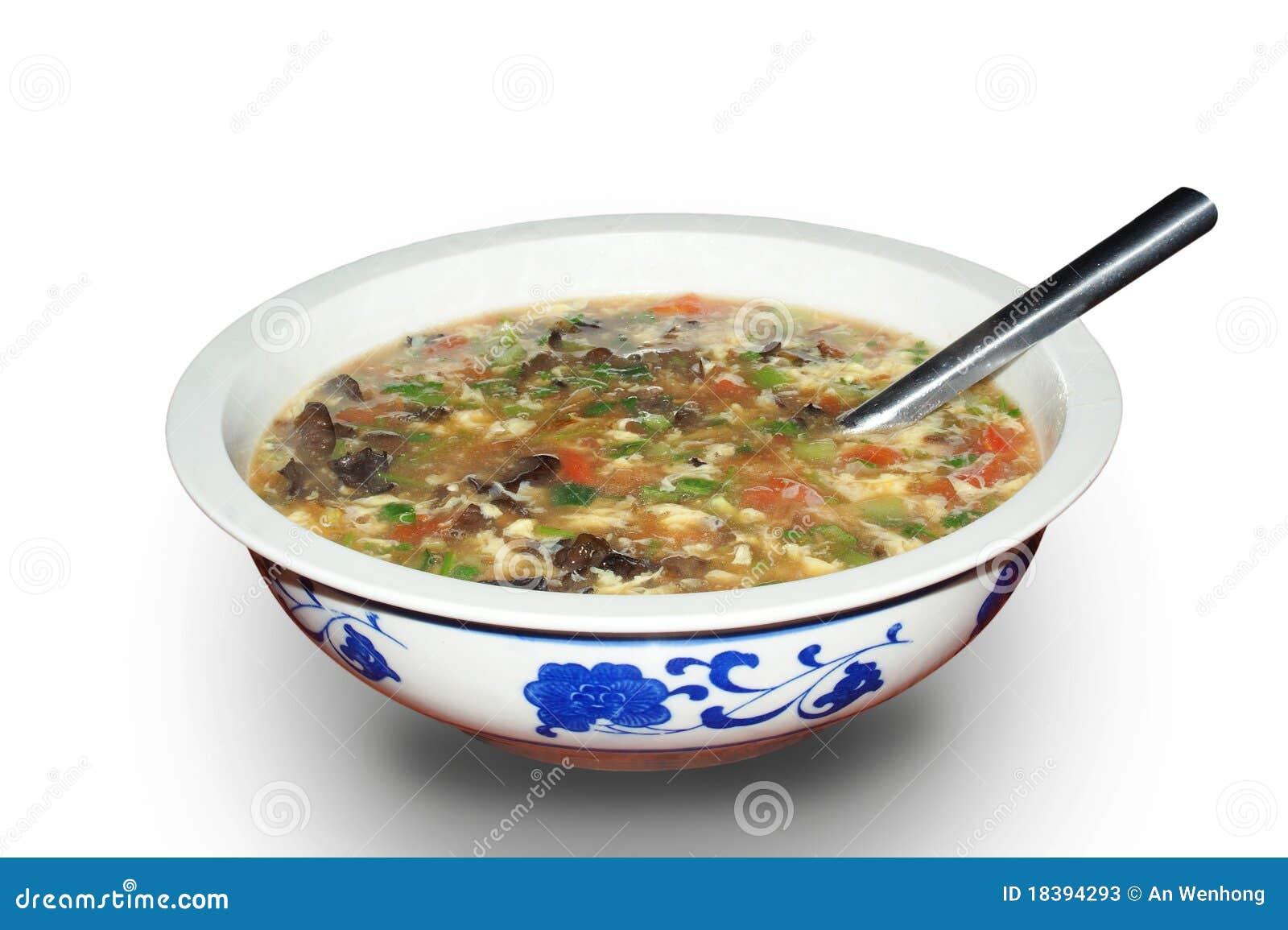 Download овощ супа стоковое изображение. изображение насчитывающей vegetarian - 18394293
