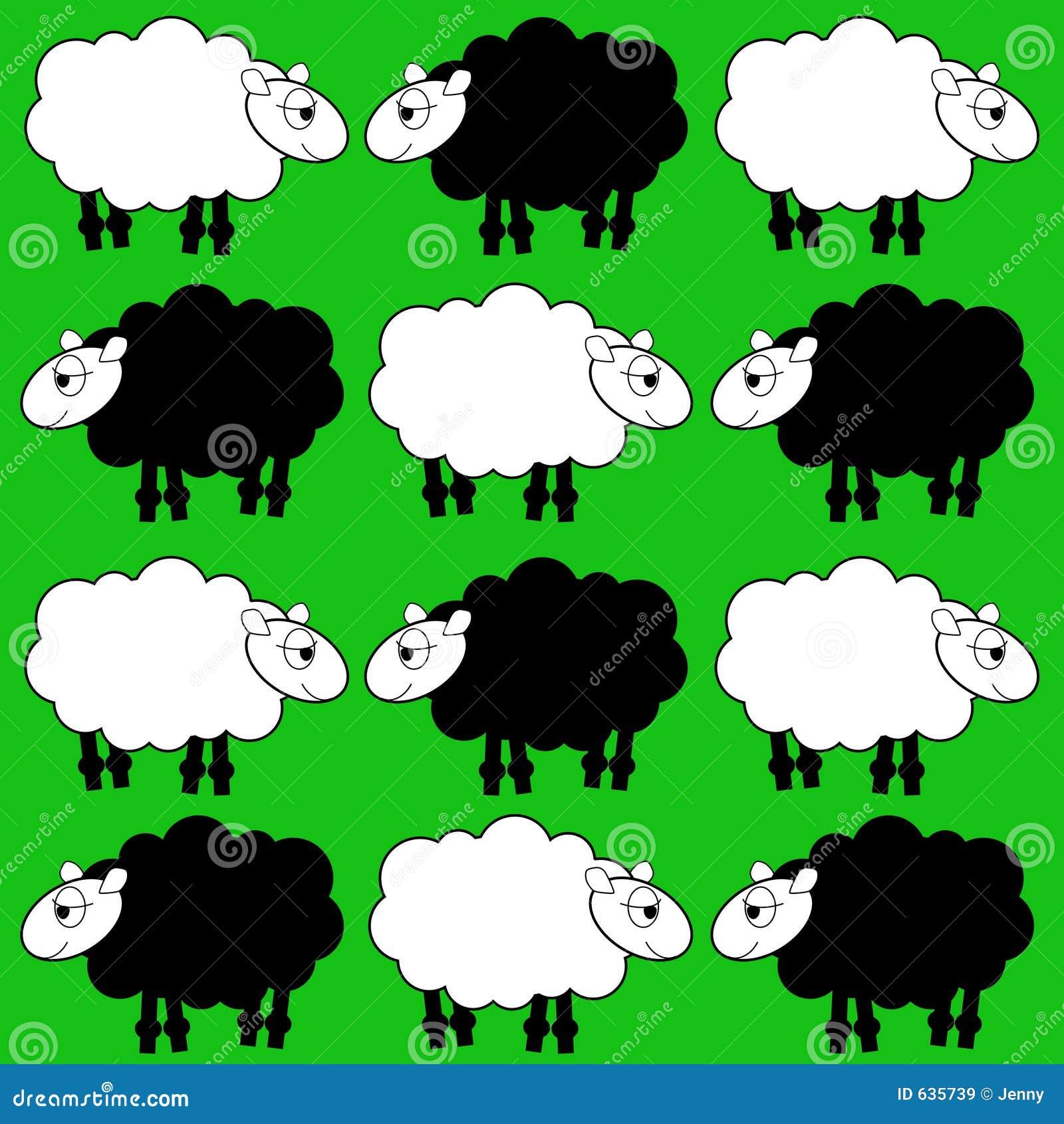 Download овцы иллюстрация вектора. иллюстрации насчитывающей художничества - 635739