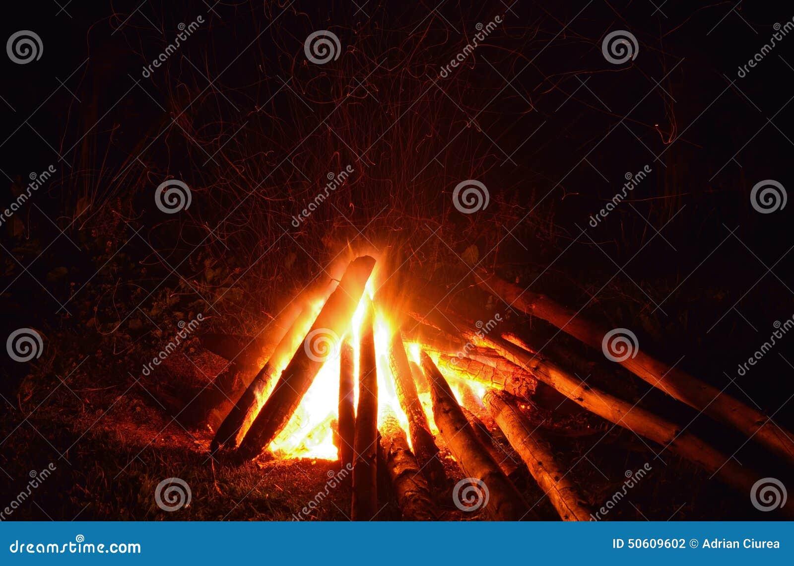 Огонь лагеря