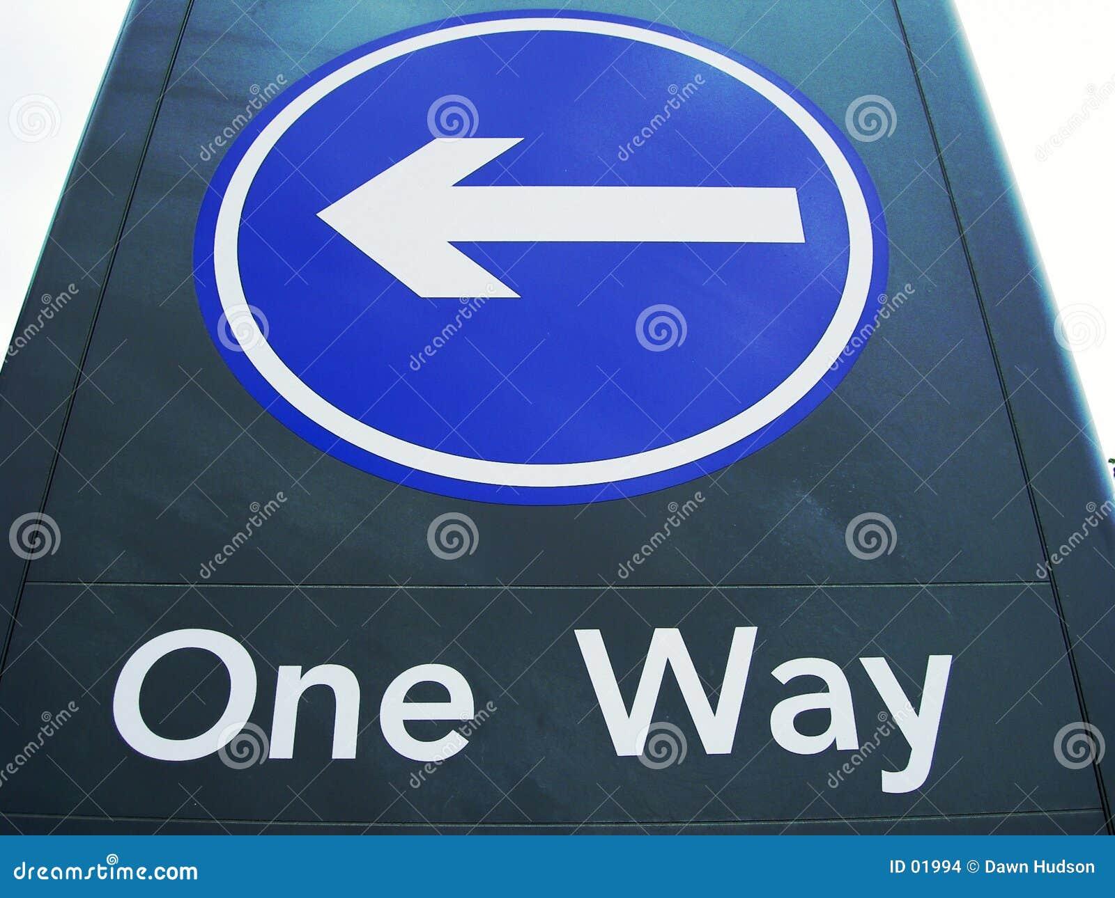 один путь знака