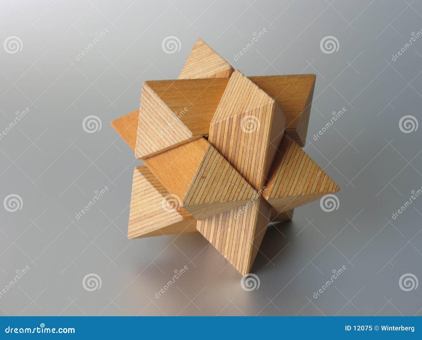 озадачьте деревянное