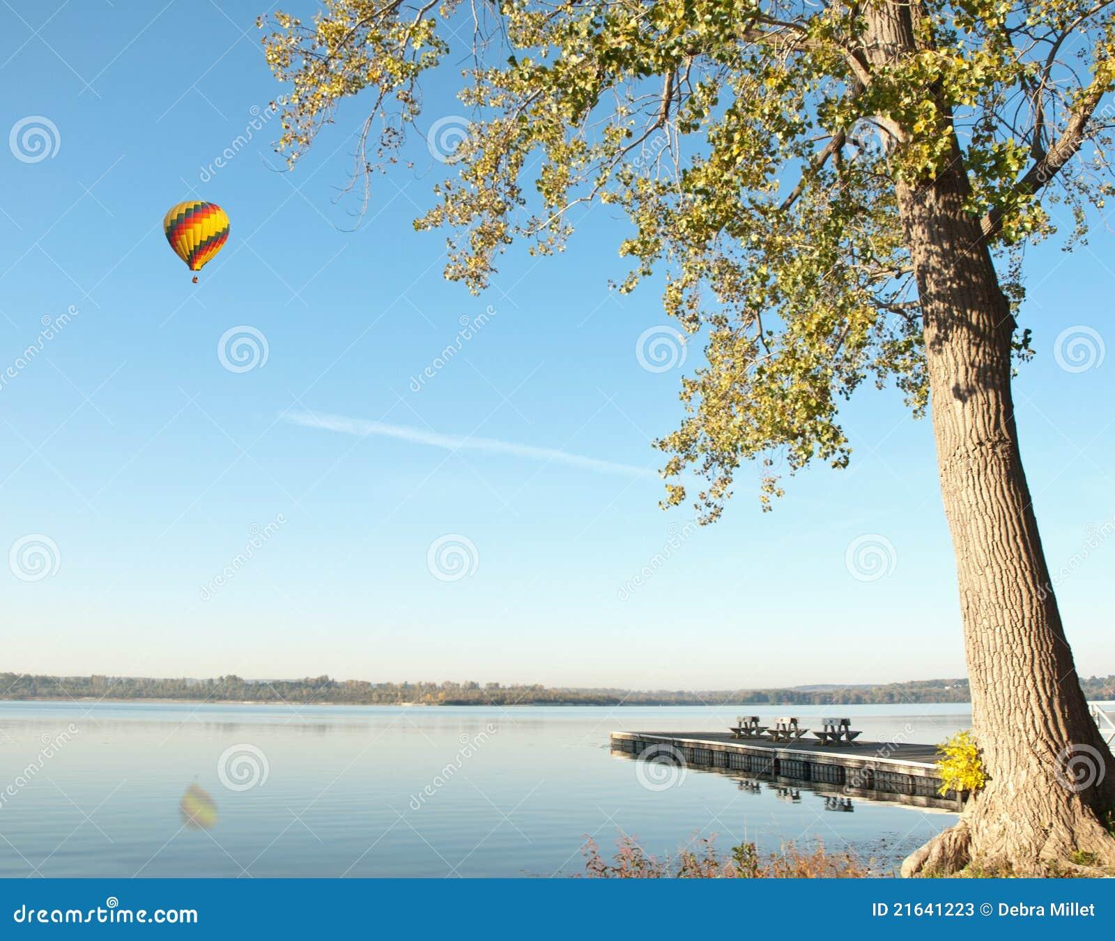 озеро воздушного шара горячее сверх