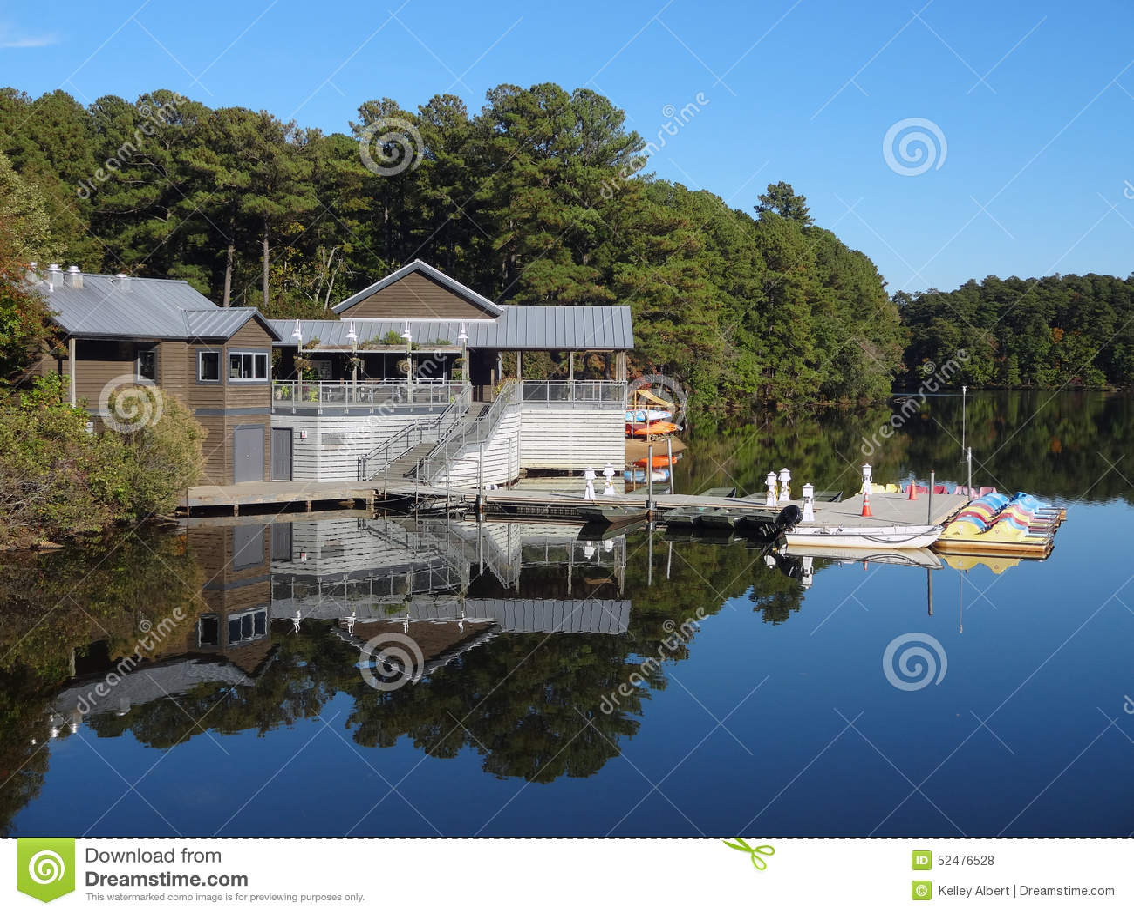 Озеро Джонсон, Северная Каролина