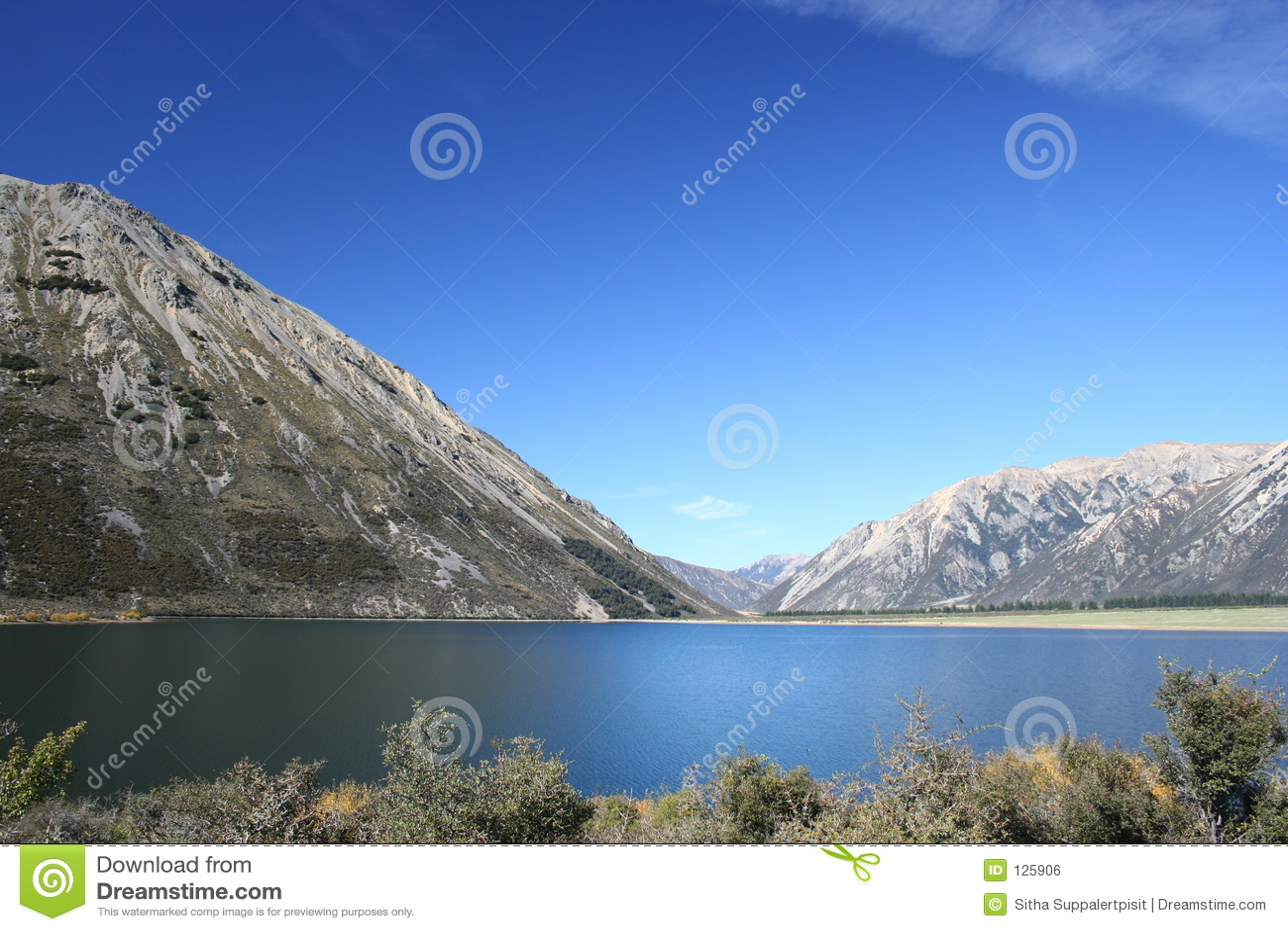 озеро новый pearson zealand